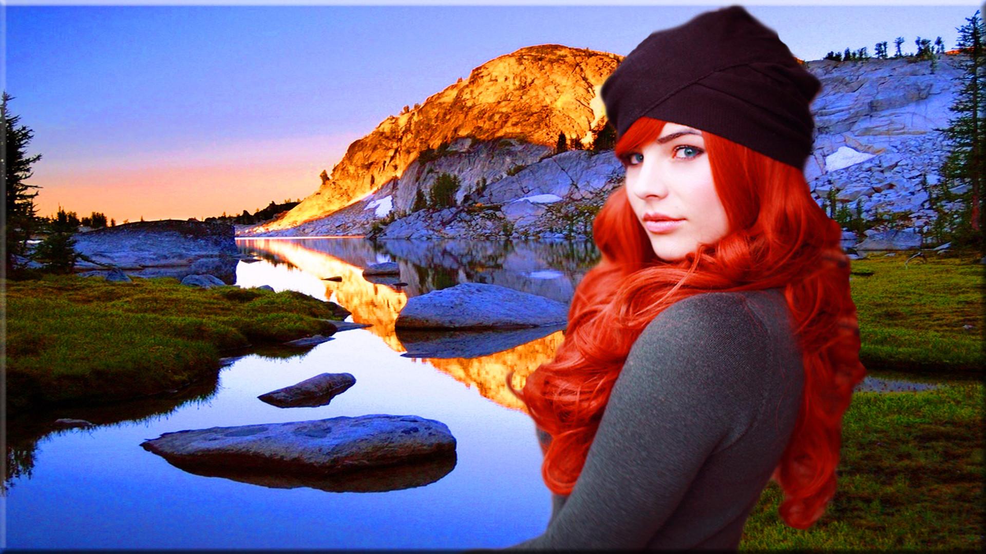 Redhead At The Mountains – Models Female Wallpaper ID 1369045 – Desktop  Nexus People Gloria Williams onto RedHeads Rule