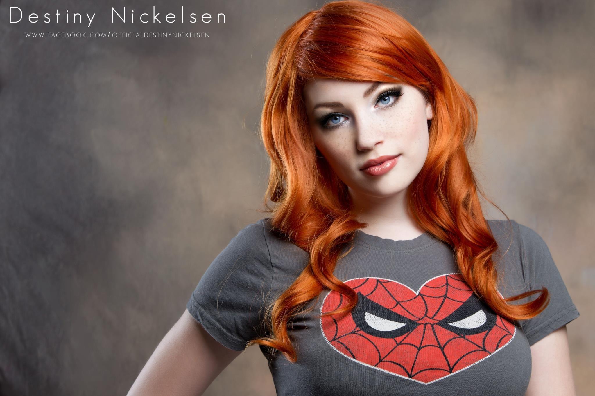 Destiny Nickelsen, Redhead Wallpaper