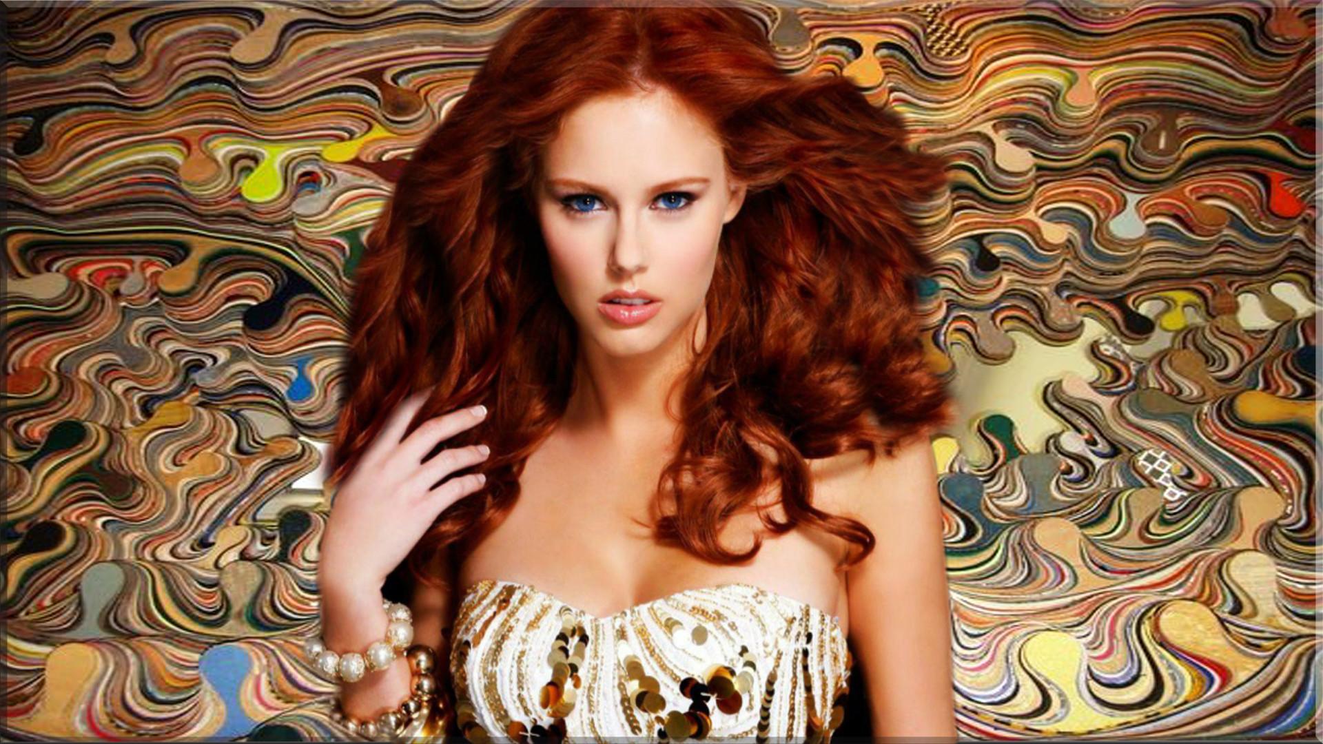 Women – Alyssa Campanella Redhead Woman Model Wallpaper