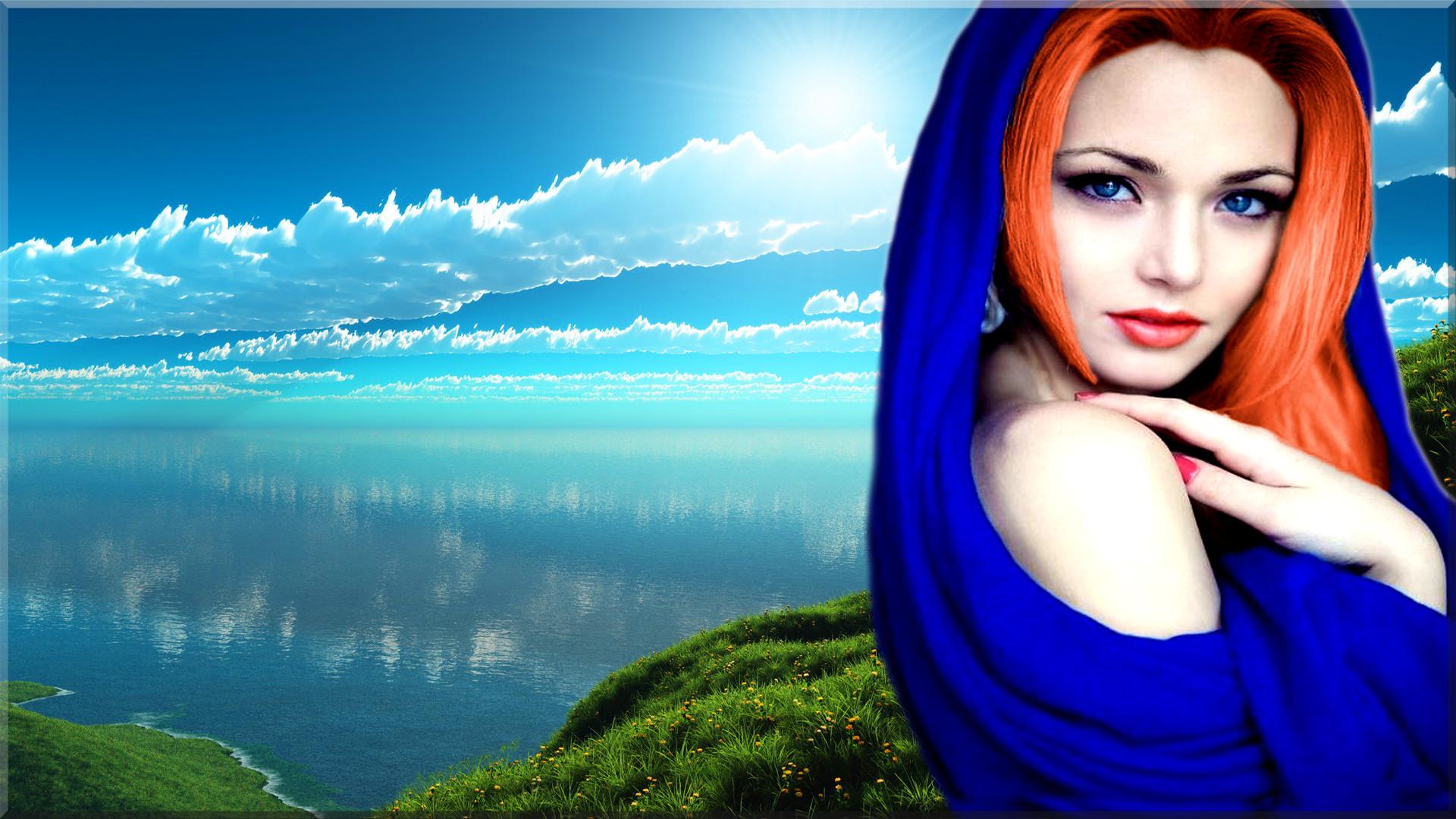 Women – Model Redhead Woman Wallpaper
