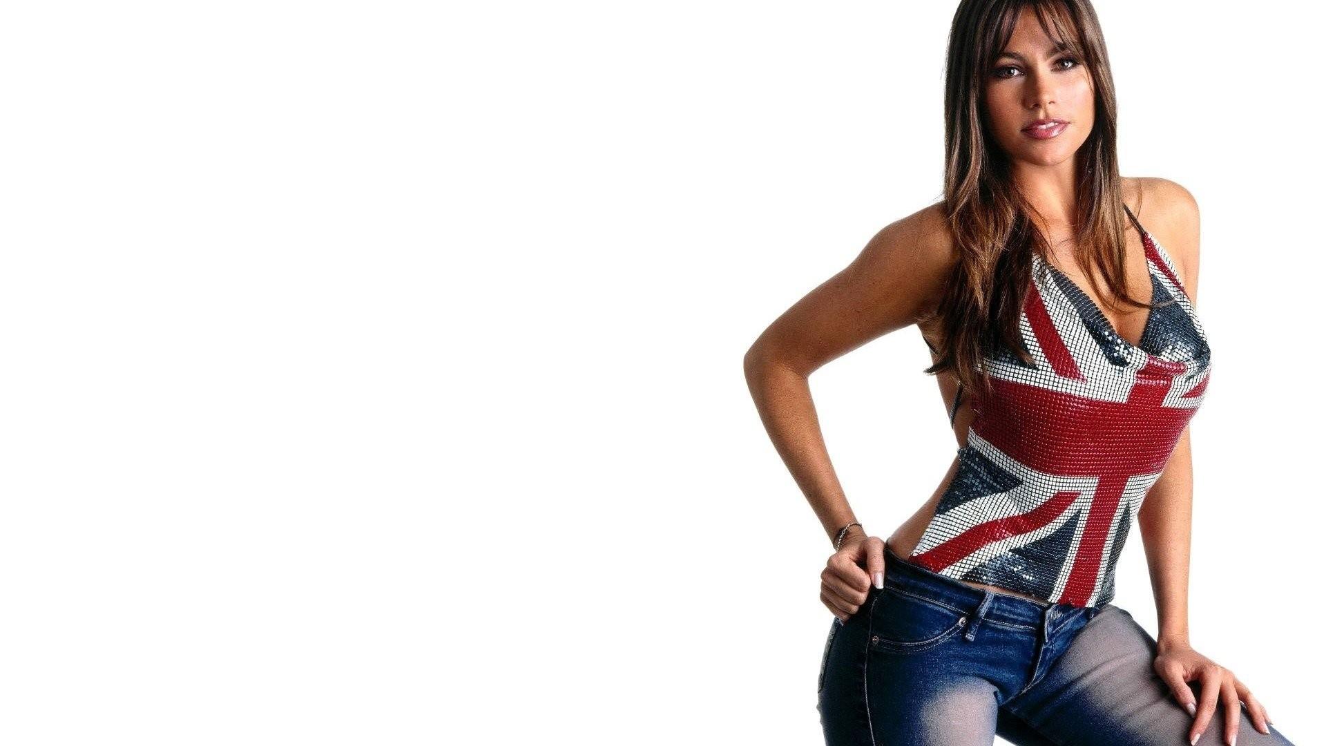 SOFIA VERGARA – Actress Women Jeans flag wallpaper | | 516649 |  WallpaperUP