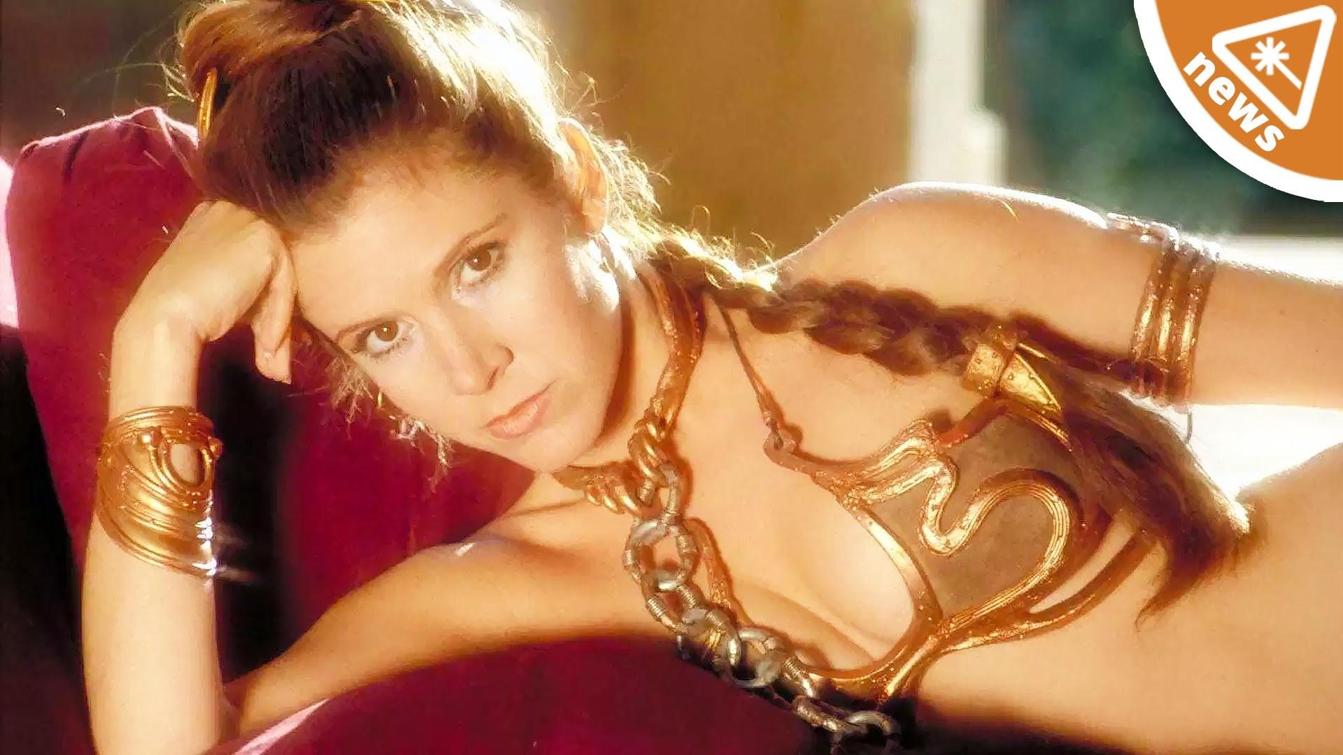 Say Goodbye to Slave Leia from Star Wars! (Nerdist News w/ Jessica Chobot)  – YouTube
