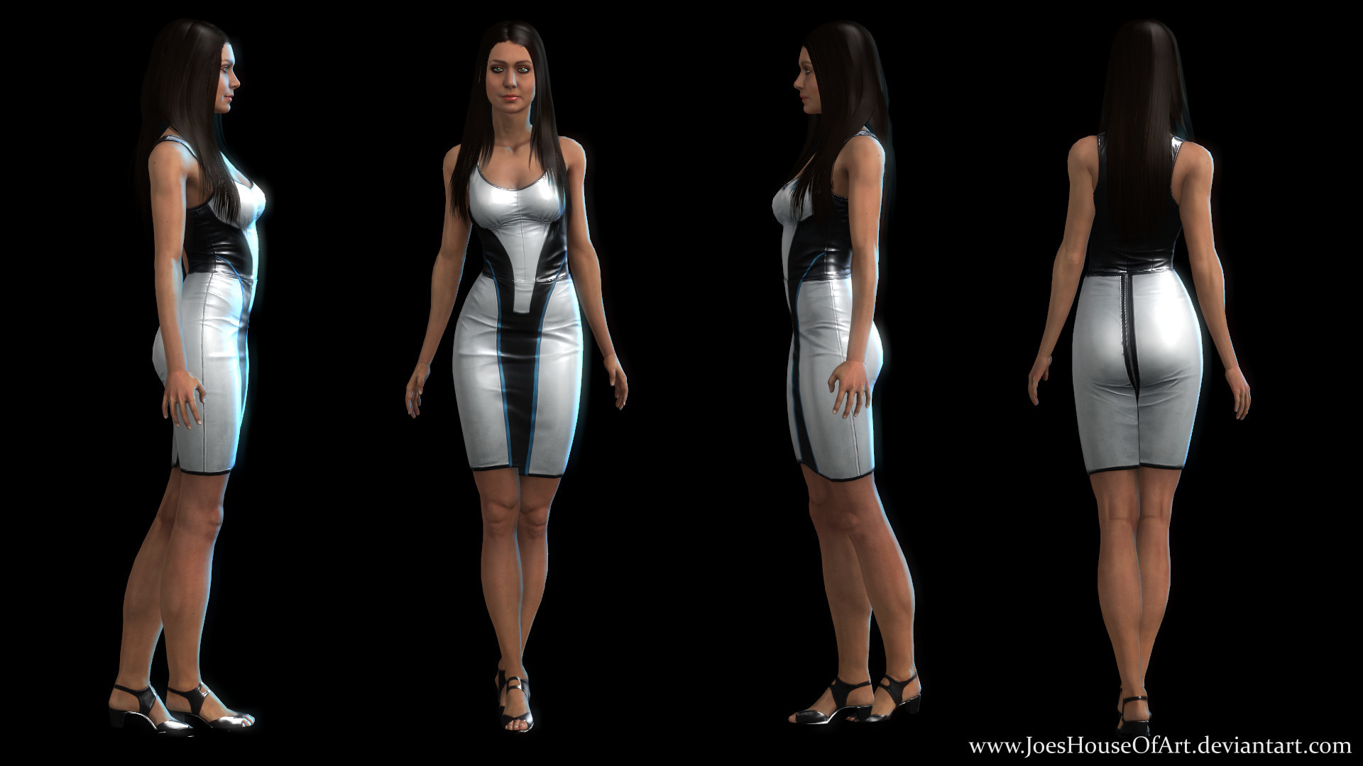 … Mass Effect: Diana Allers Jessica Chobot Upgraded by ShaunsArtHouse