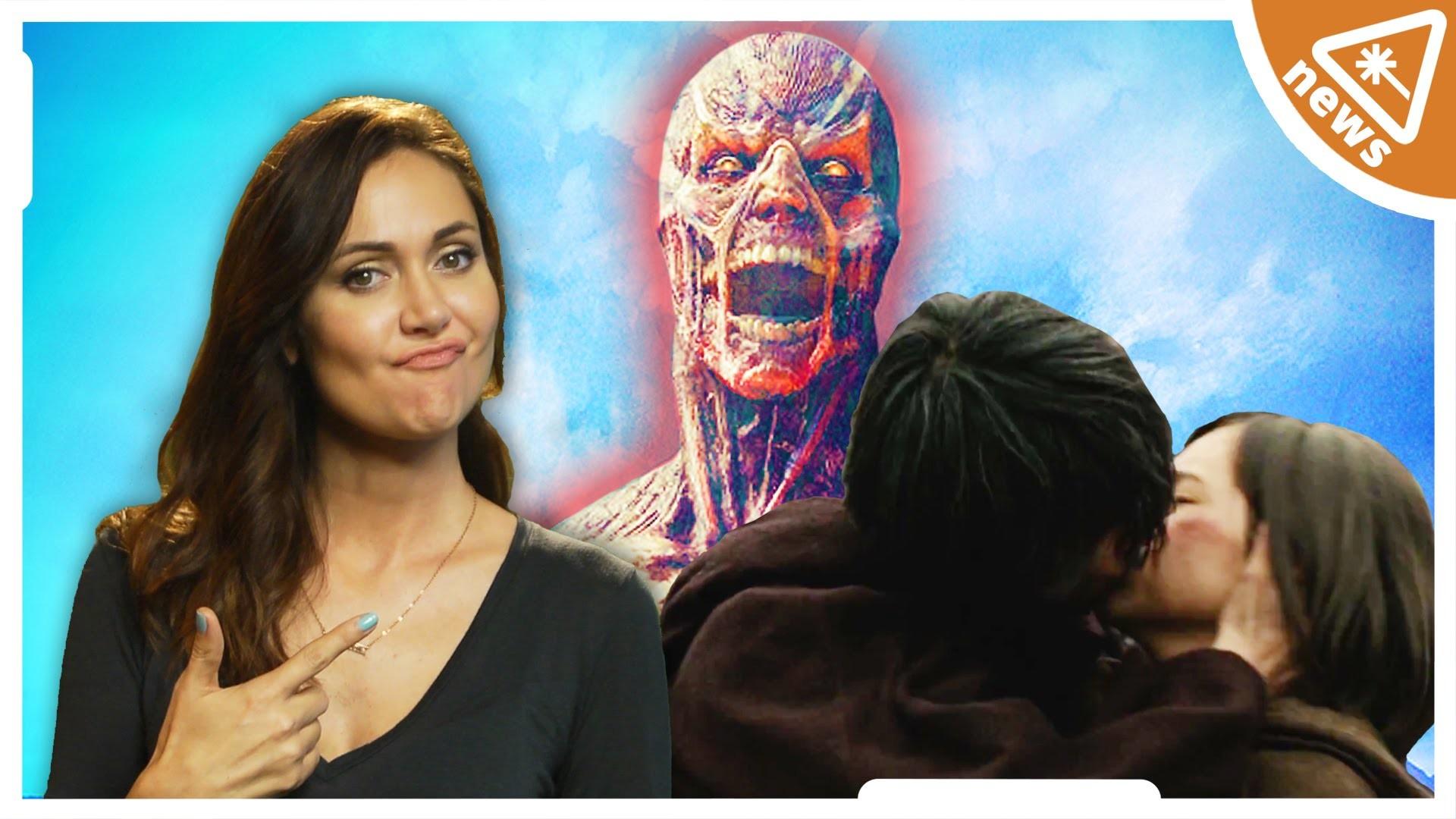 New ATTACK ON TITAN Trailer Controversy! (Nerdist News Report w/ Jessica  Chobot) – YouTube