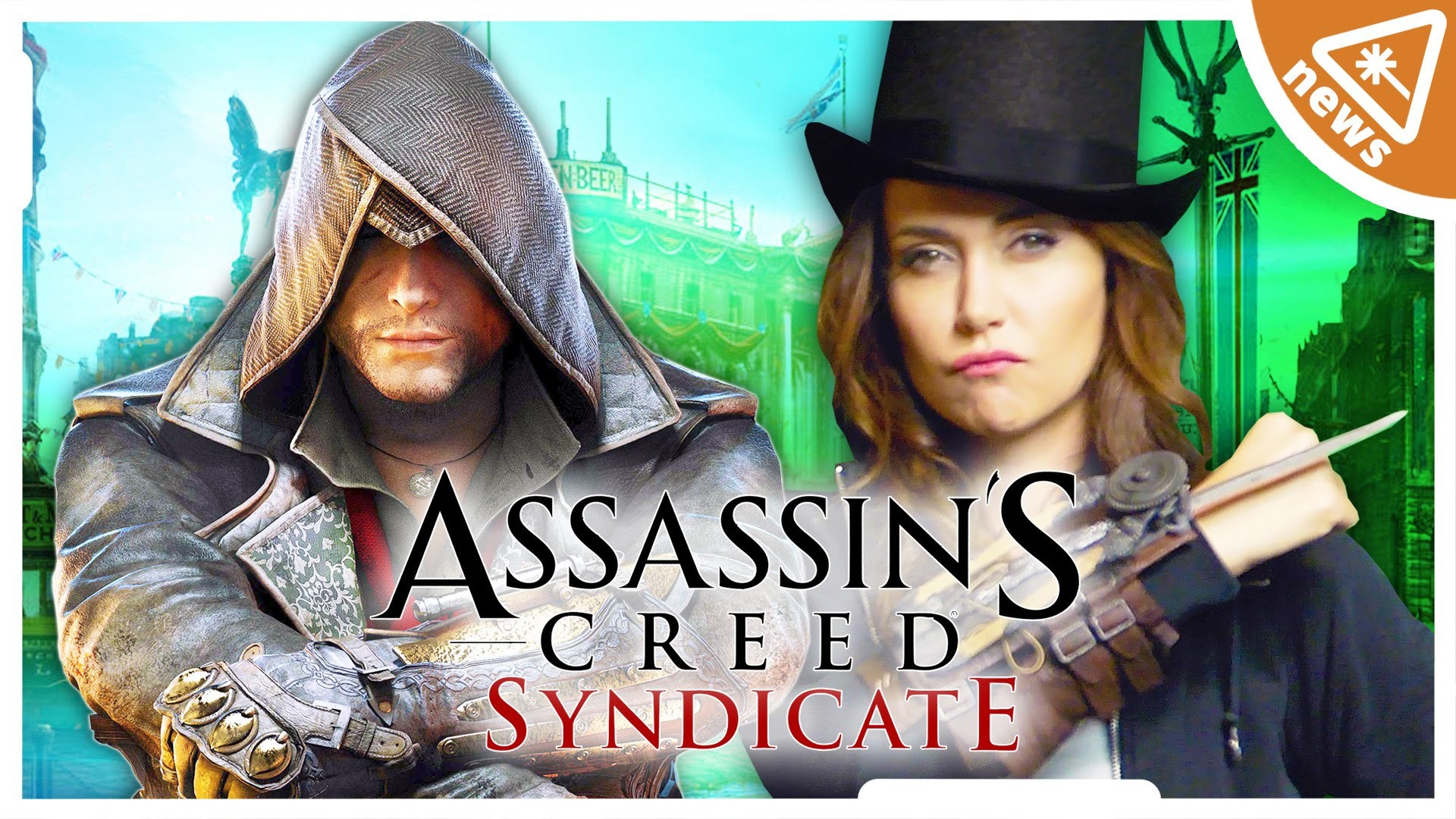 First Look at ASSASSIN'S CREED SYNDICATE (Nerdist News w/ Jessica Chobot) –  YouTube
