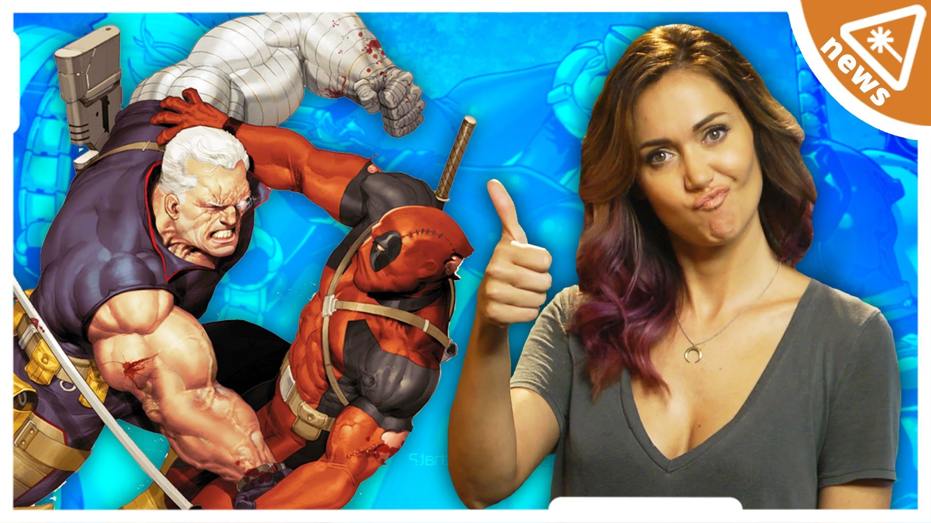 DEADPOOL and CABLE Reunite for Comics AND Movies! (Nerdist News w/ Jessica  Chobot)