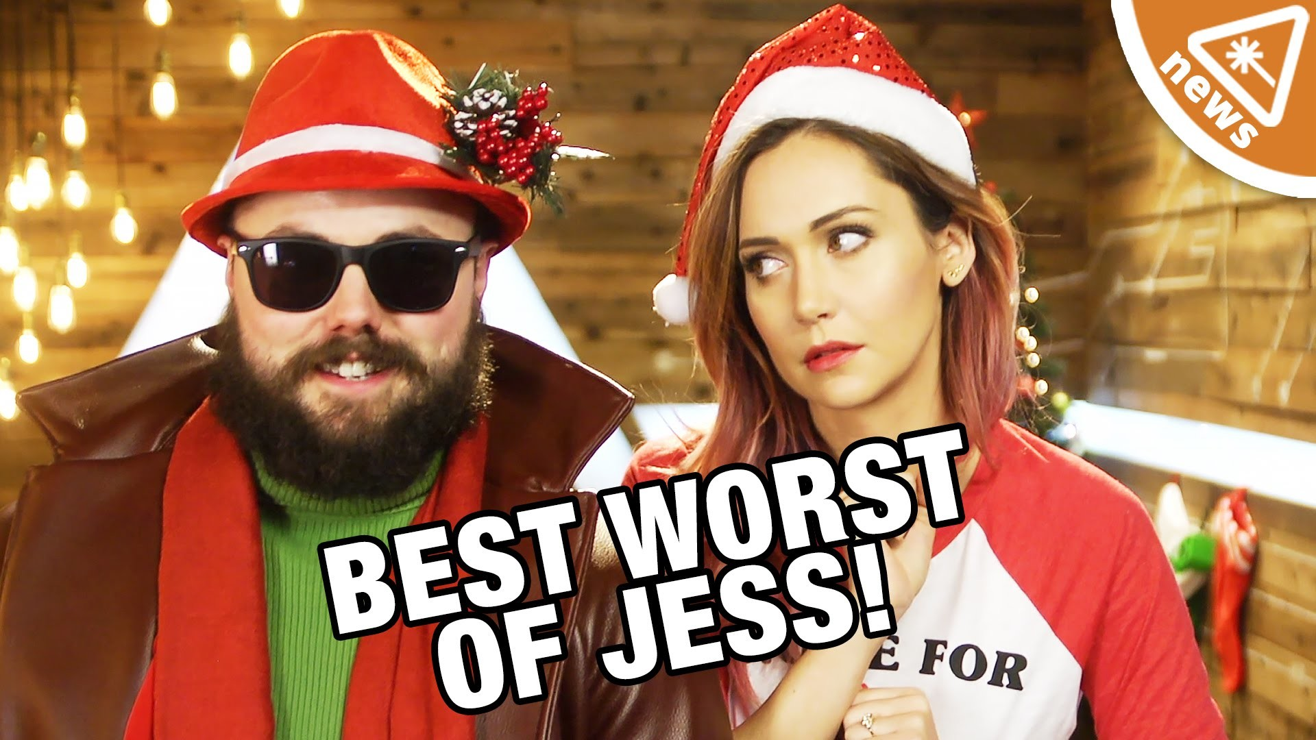 The Best and Worst of Jessica Chobot from 2015! (Nerdist News w/ Jessica  Chobot) – YouTube