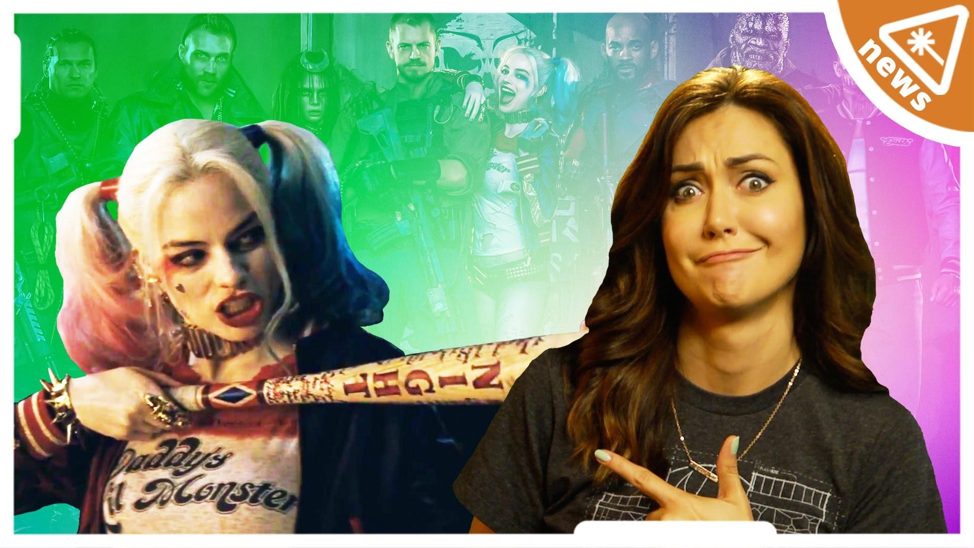 SUICIDE SQUAD Comic Con Trailer Breakdown! (Nerdist News w/ Jessica Chobot)