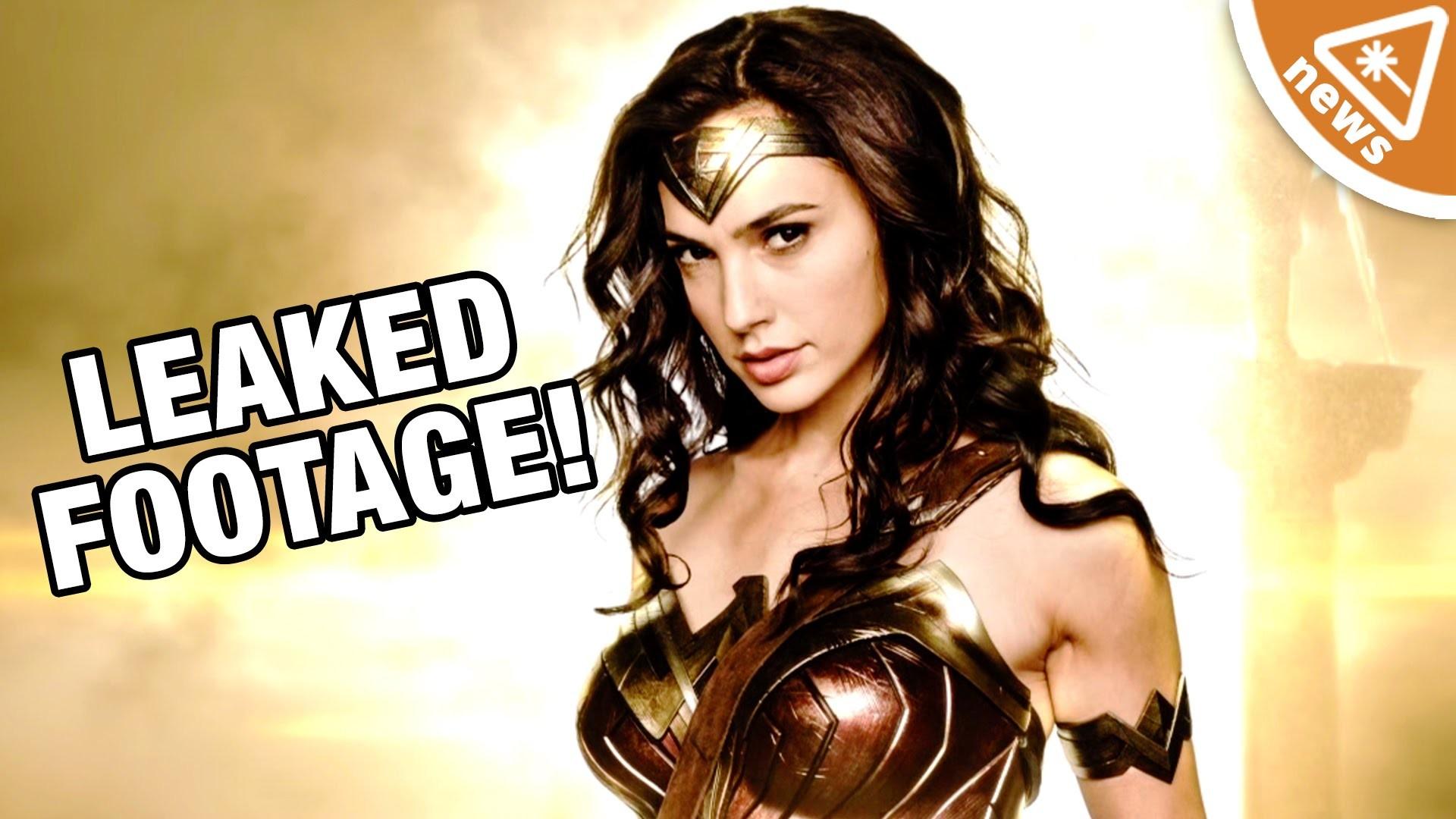 First Leaked Wonder Woman Footage Revealed! (Nerdist News w/ Jessica Chobot)  – YouTube