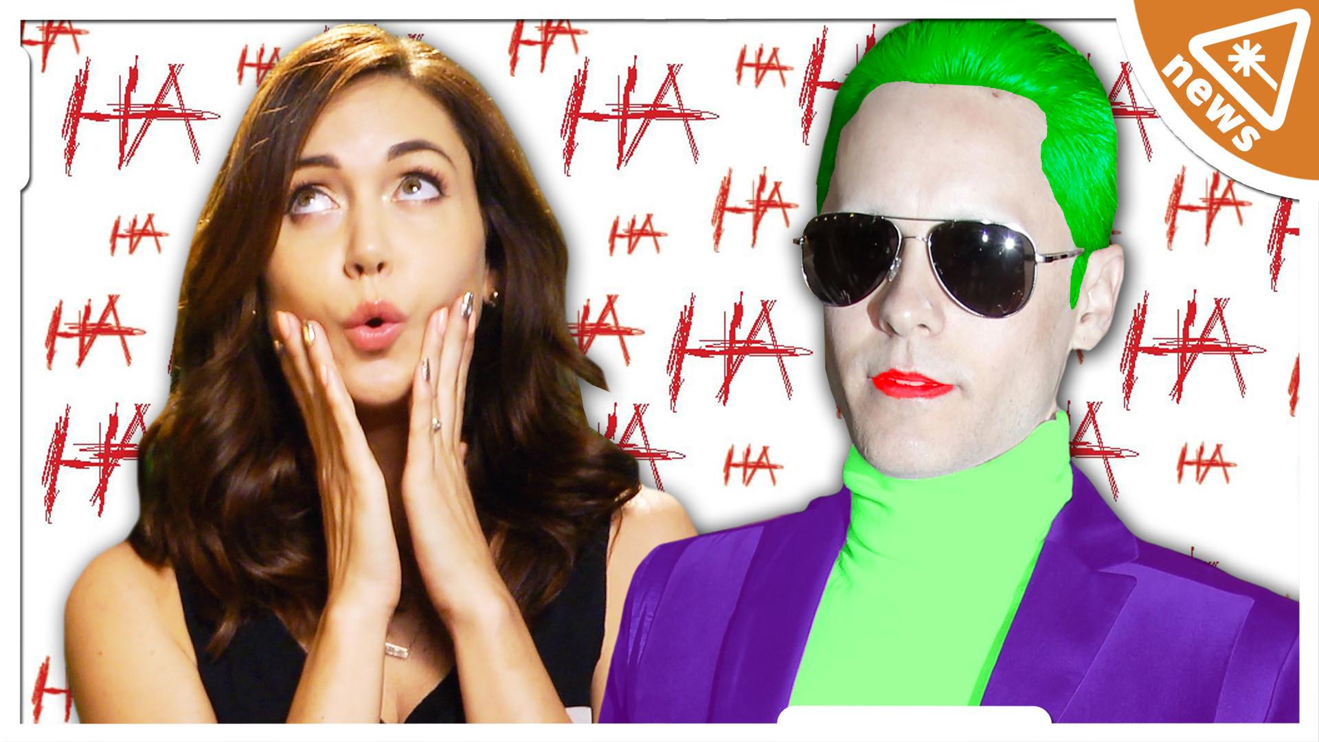 Special Report: The Joker's New Voice & Harley Quinn's SUICIDE SQUAD Look    Nerdist