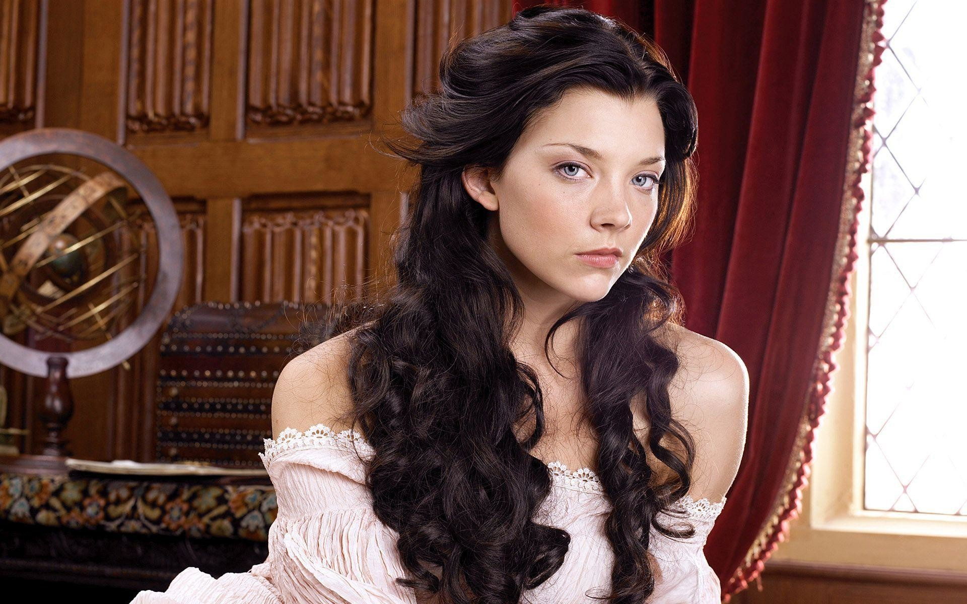 Related Wallpapers. Natalie Dormer with brunette curls