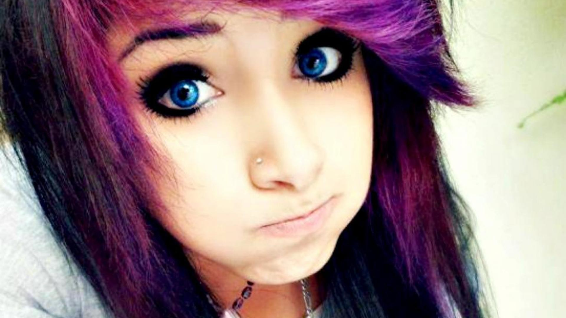 Emo scene cute girl – (#157757) – High Quality and Resolution .