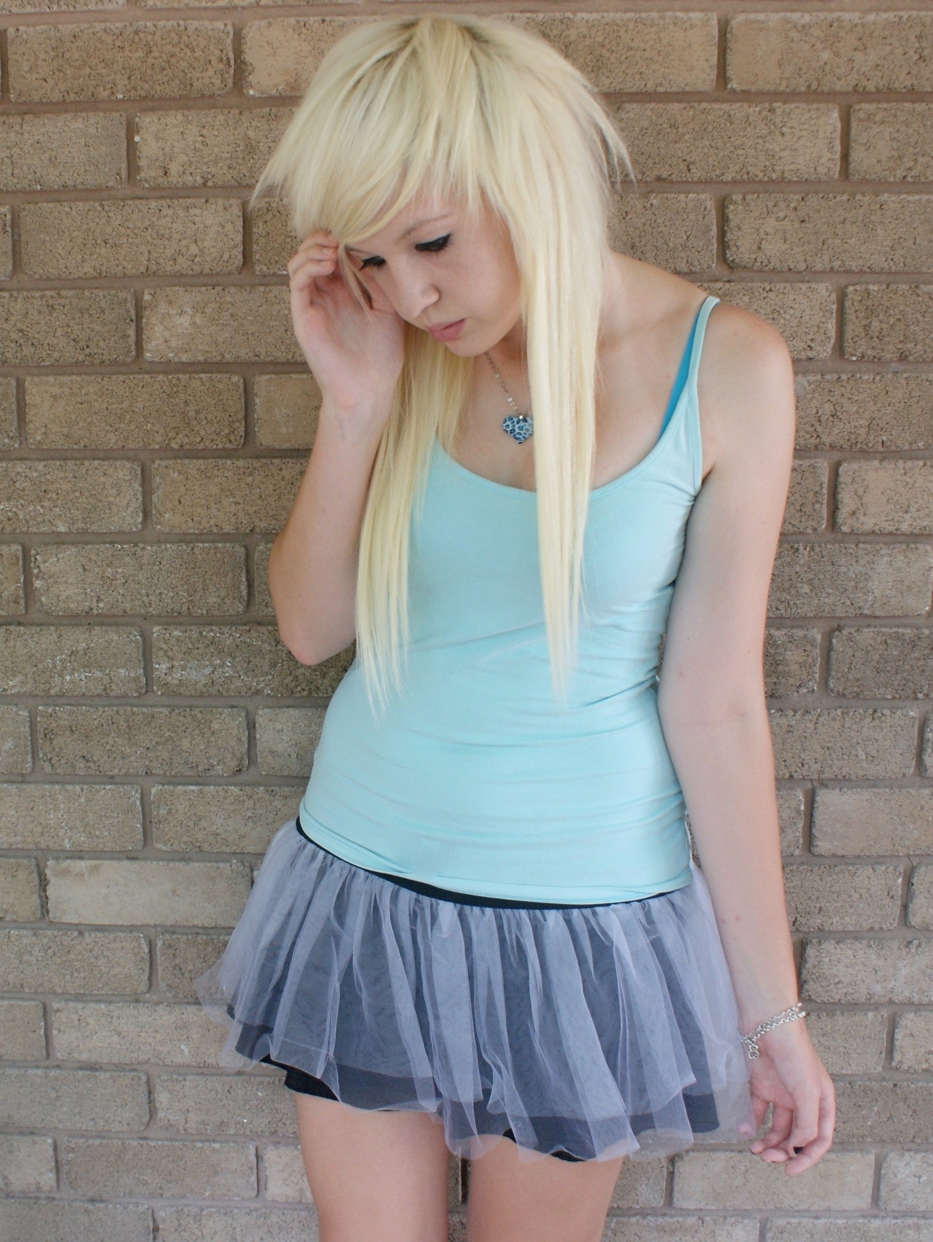 Emo and Scene Kids images blonde scene girl HD wallpaper and background  photos