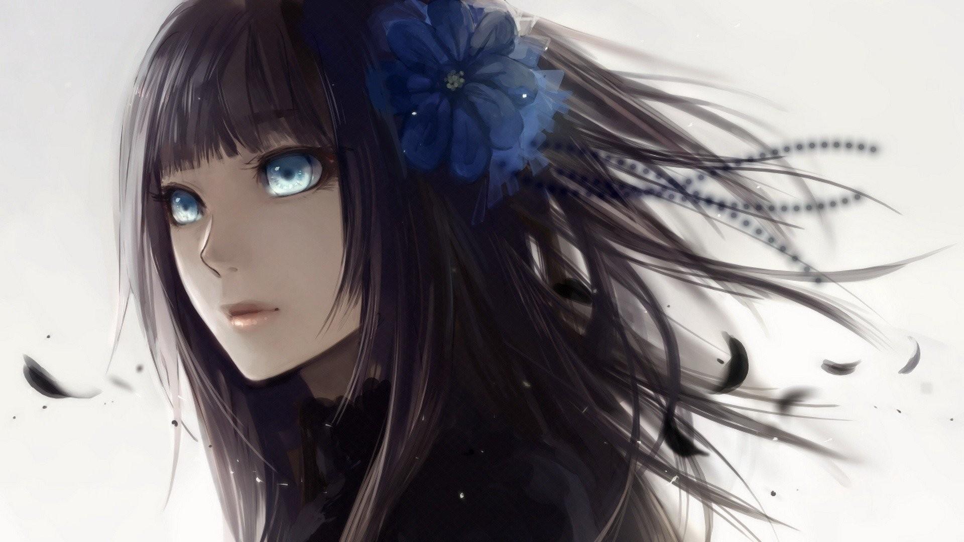 Anime Girl Black Hair 483641