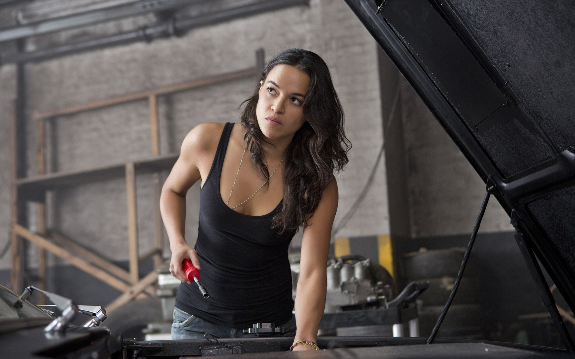 Fast Furious 6 Michelle Rodriguez Desktop Wallpaper
