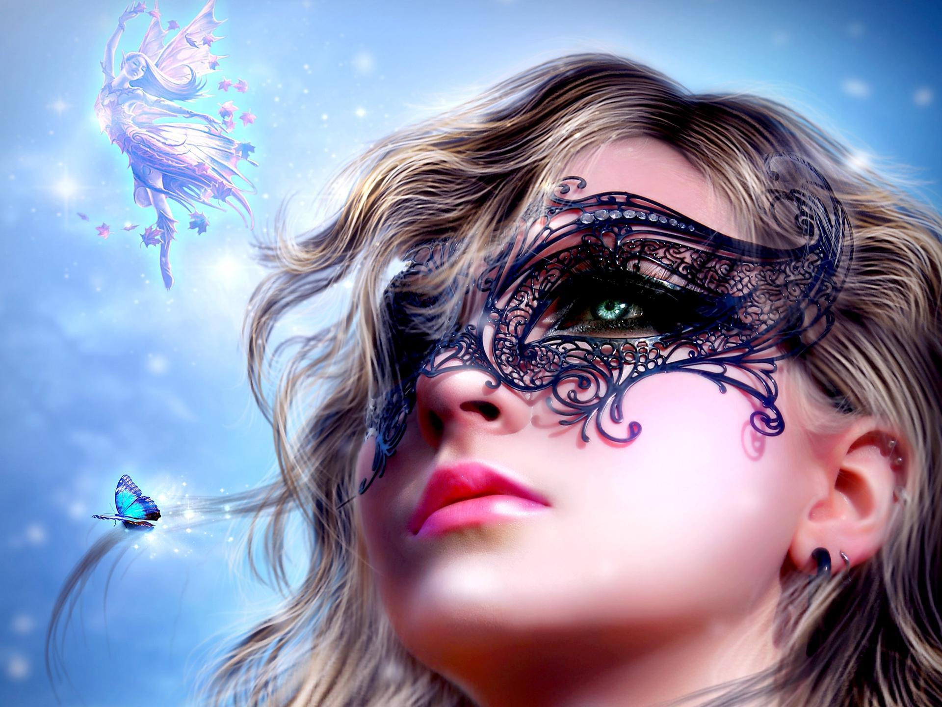 3d fantasy girl hd wallpaper