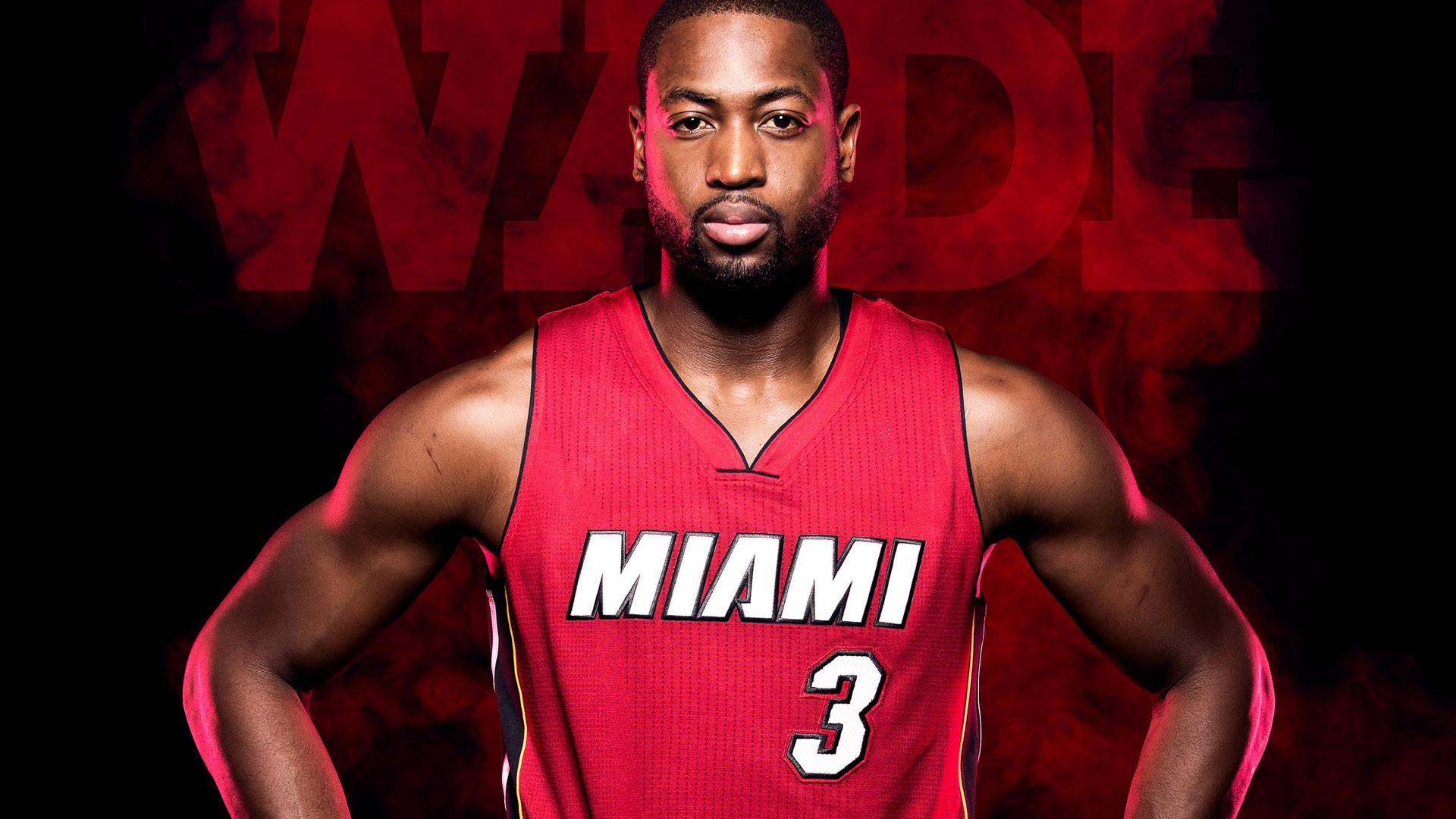 Dwyane Wade Miami Heat Players Wallpaper .
