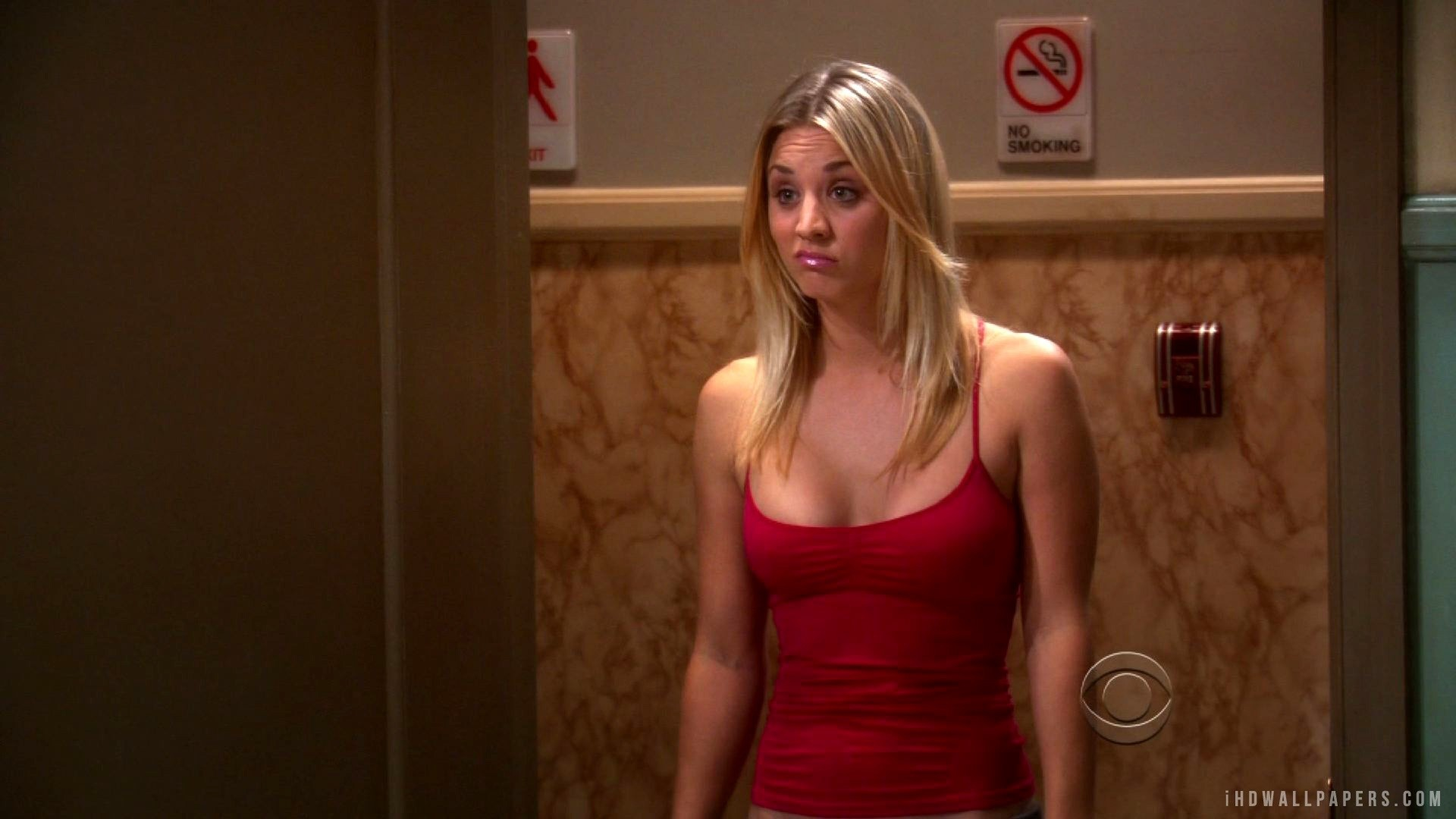 Kaley Cuoco The Big Bang Theory Wallpaper/Background in .