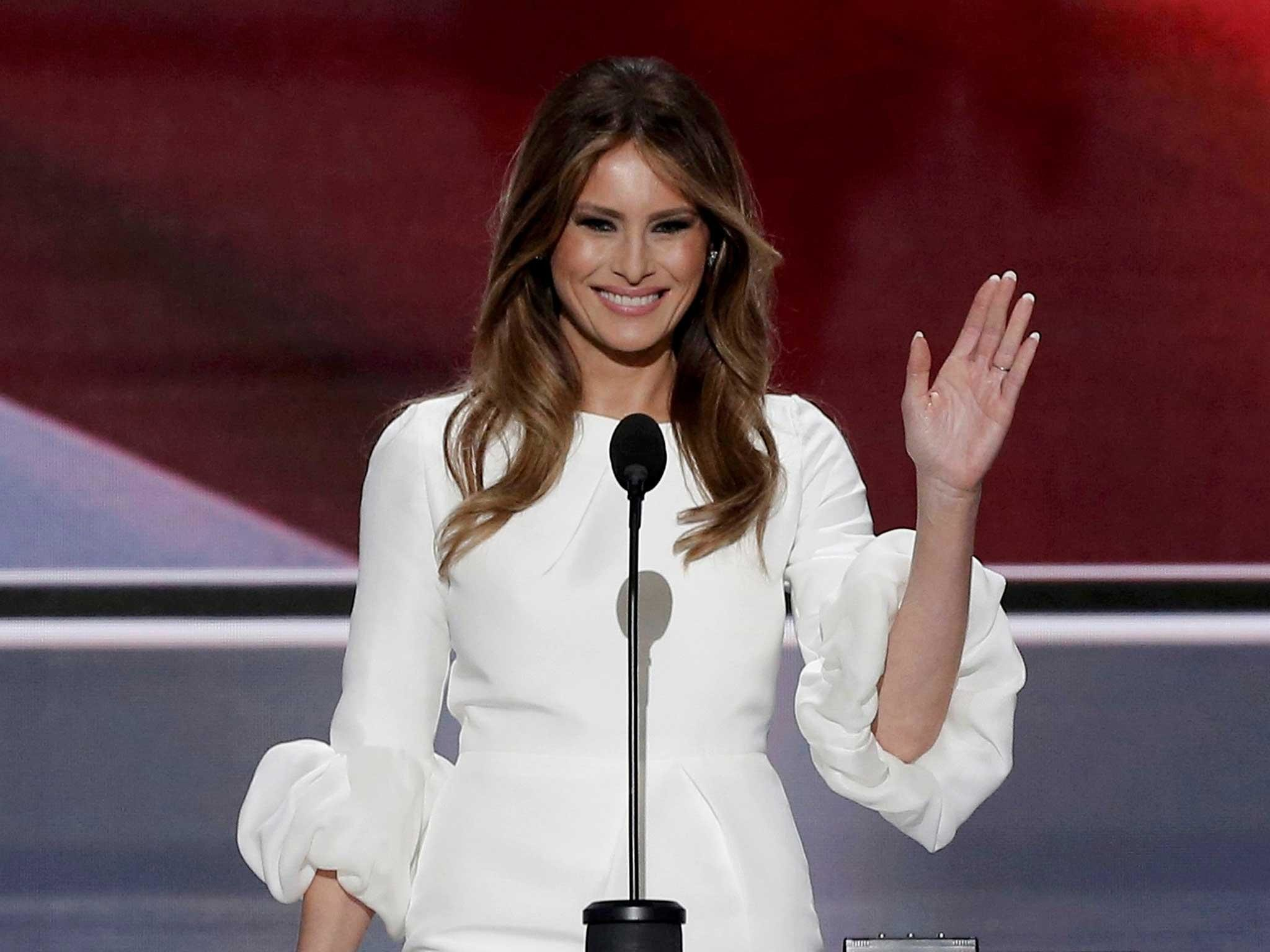 Melania Trump's website: Nothing to see here, says Donald Trump's wife    The Independent