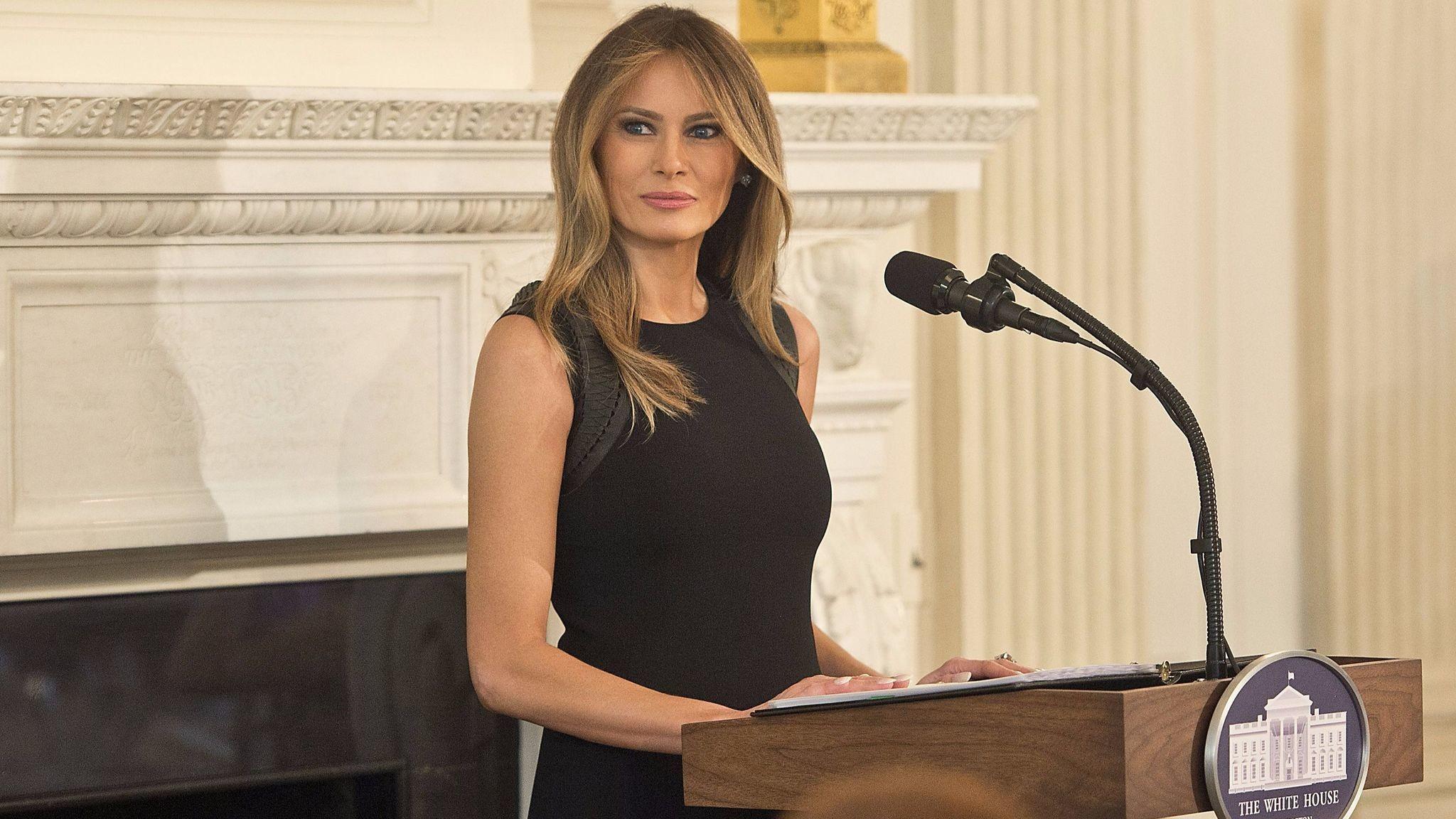 Melania Trump wears Ralph Lauren for International Women's Day luncheon –  LA Times