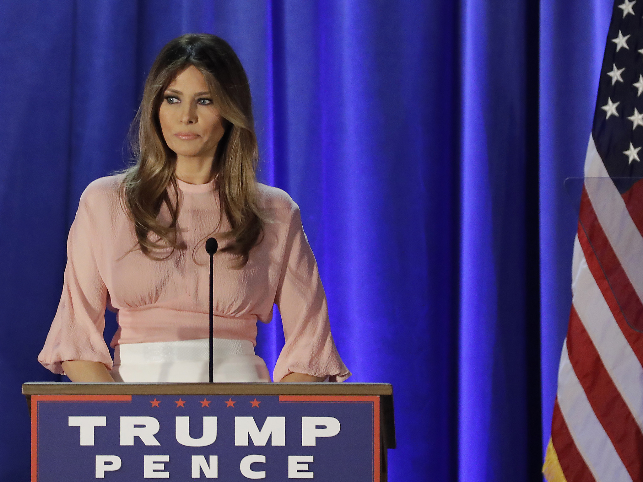 Melania Trump: How the steely former model went from Communist Yugoslavia  to the White House   The Independent