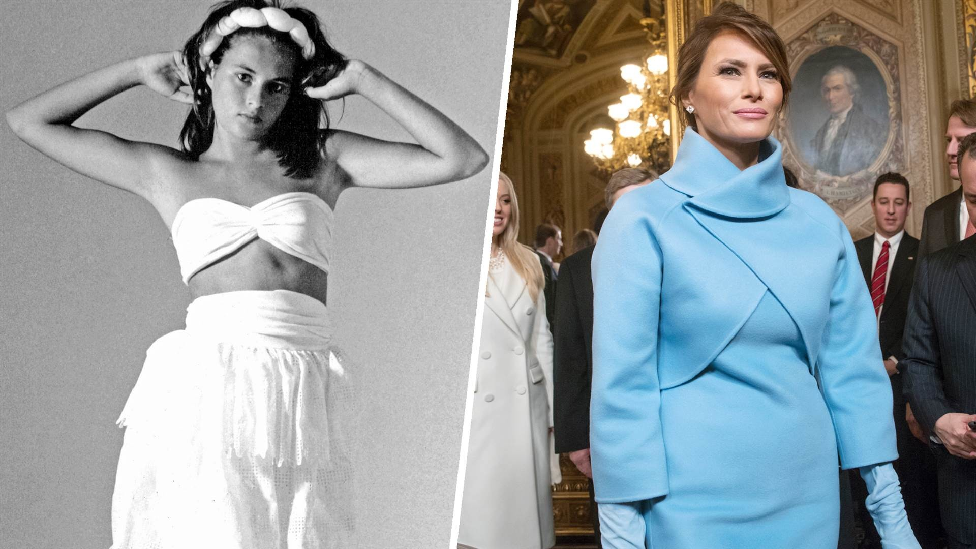 Melania Trump's fashion evolution: From model to first lady