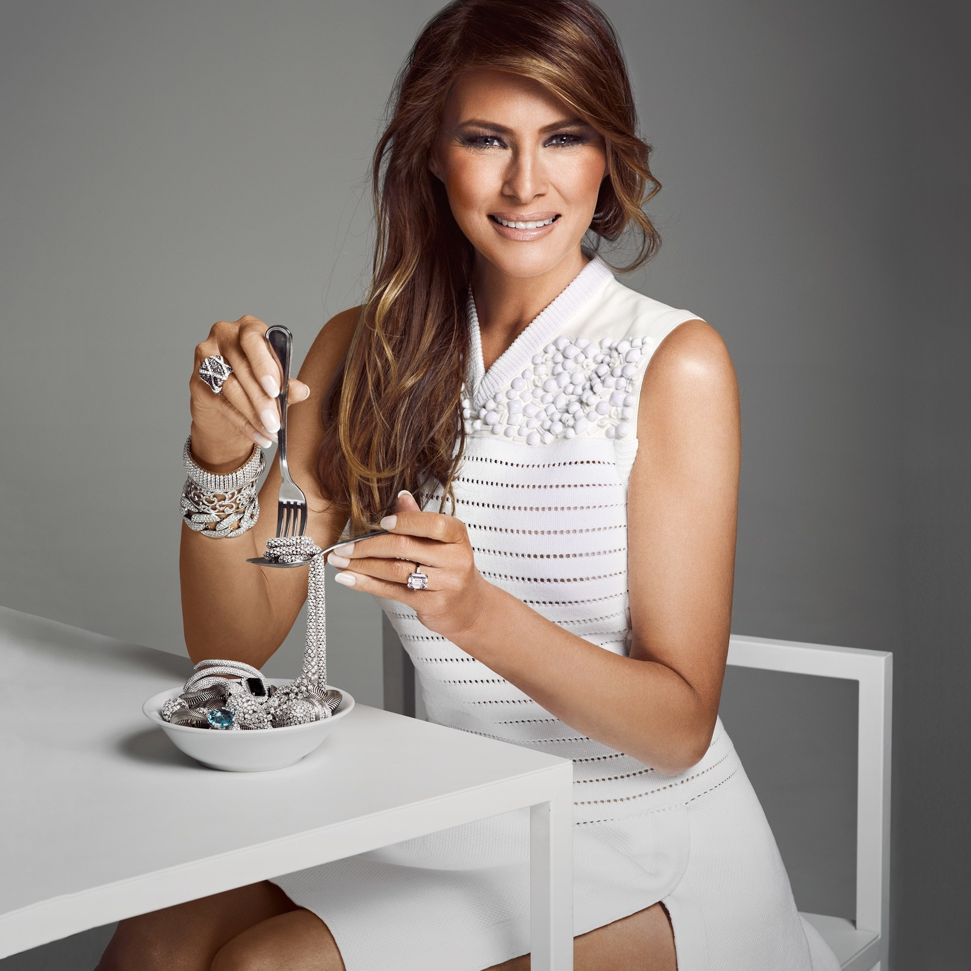 Melania Trump… different stages in her live