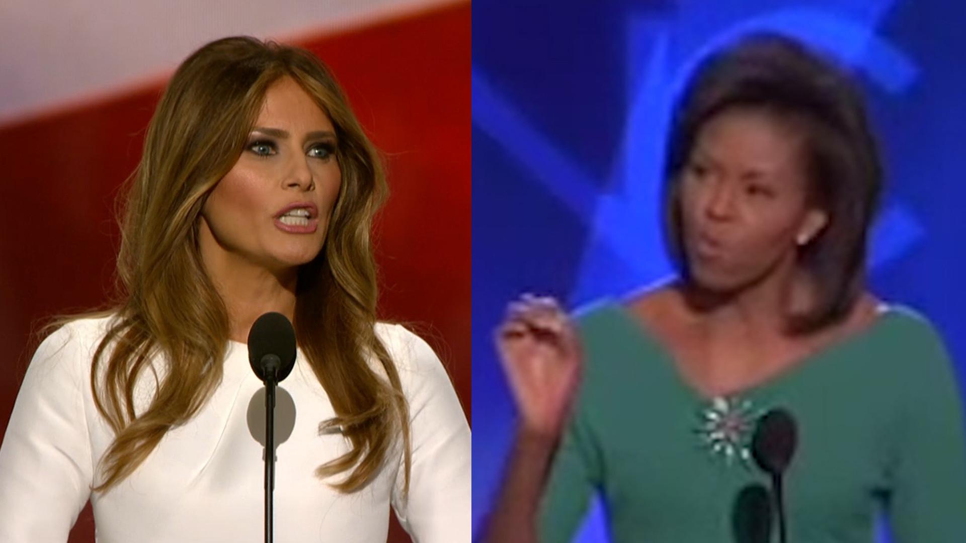 In-house speechwriter takes blame for Melania Trump's plagiarism – LA Times