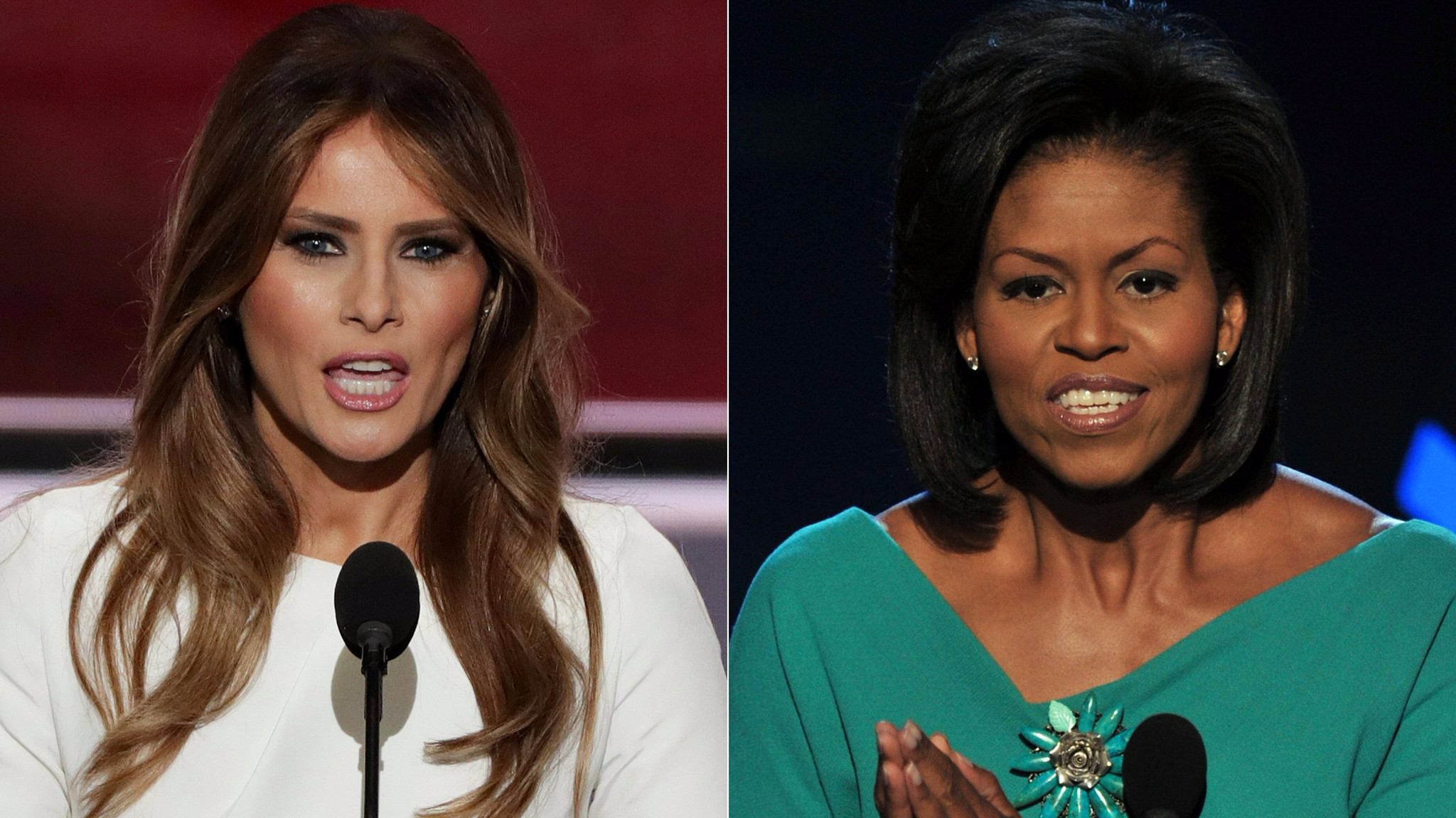 Why the plagiarism allegations against Melania Trump matter for her  husband's campaign – LA Times