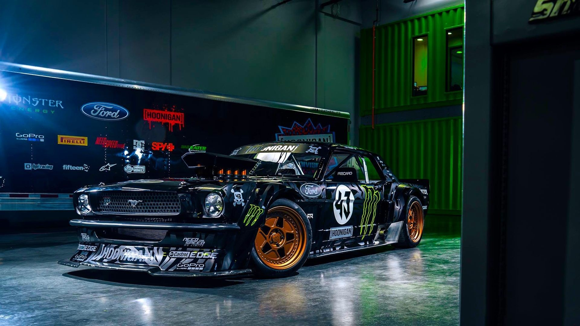Ford Mustang RTR Classic Car Wallpaper