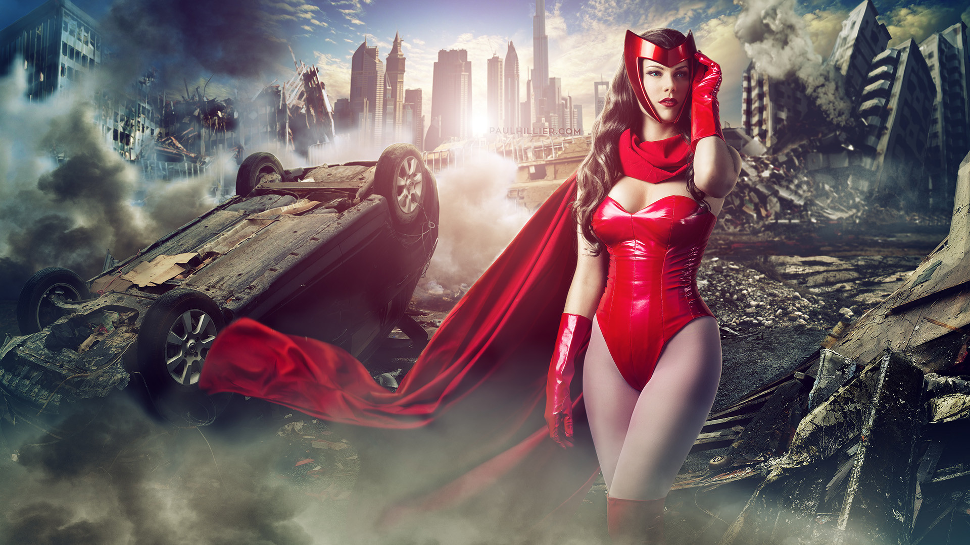 Character: Scarlet Witch (Wanda Maximoff) / From: MARVEL Comics 'Avengers'
