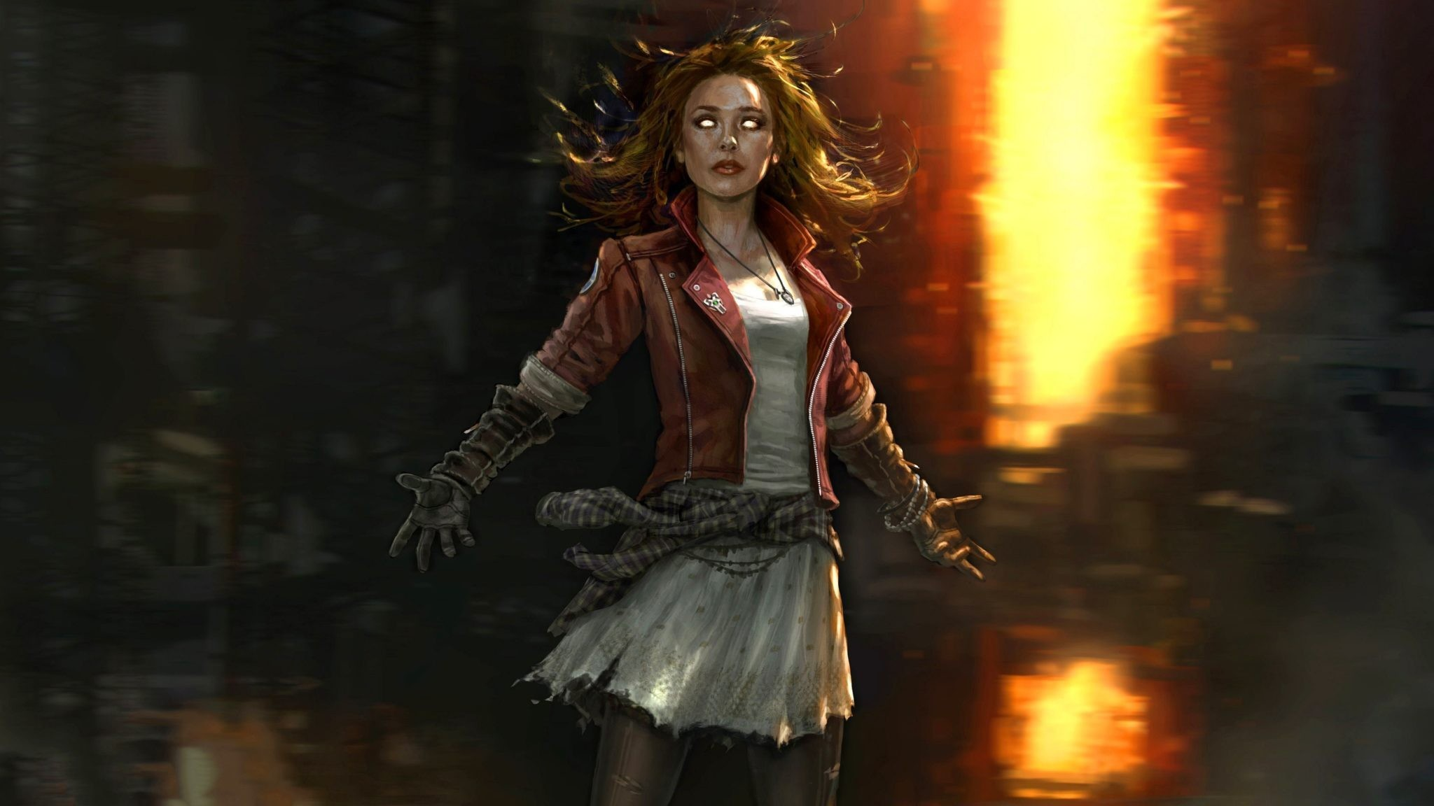 Scarlet Witch Wanda Maximoff 4K Wallpapers, Images