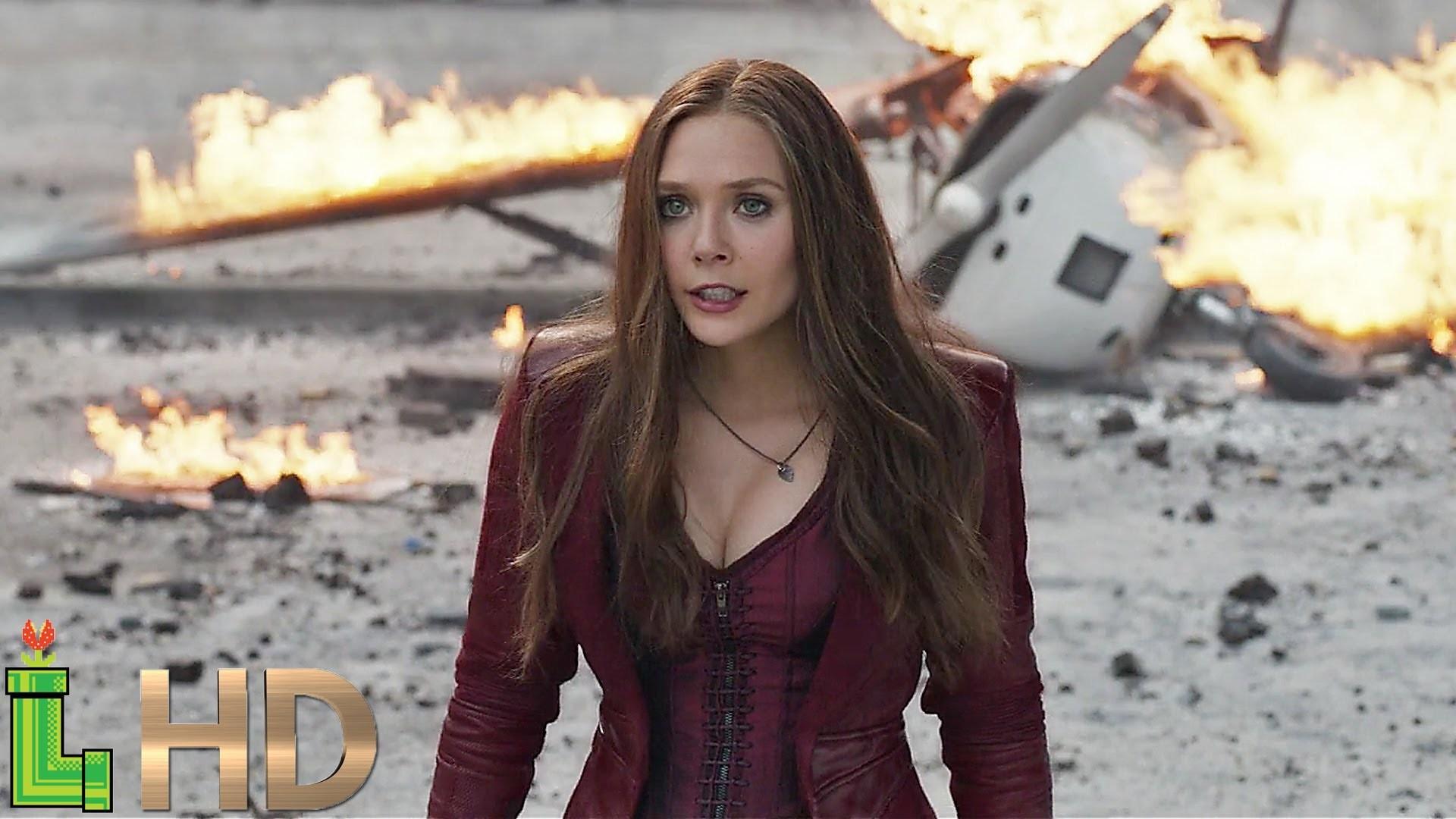 Scarlet Witch – ALL FIGHT Scenes (MCU Including Civil War) HD