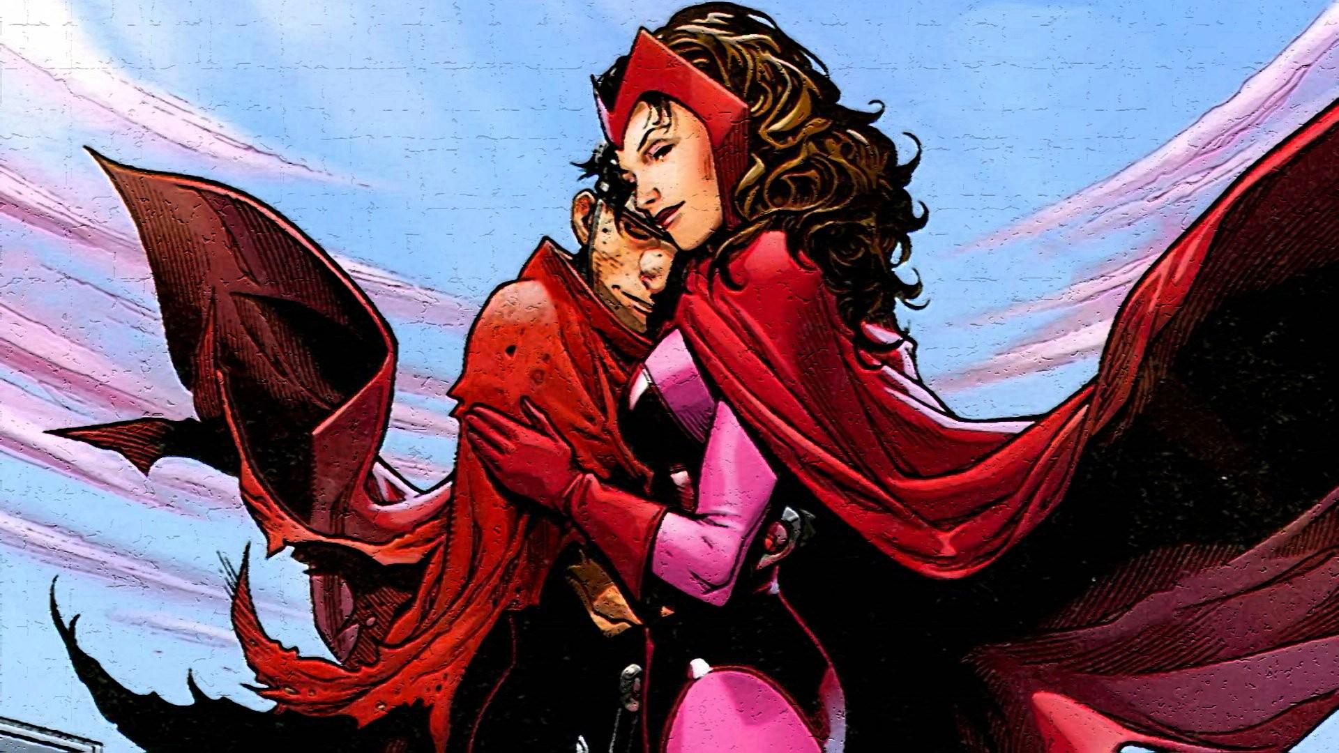 Comics – Scarlet Witch Wallpaper