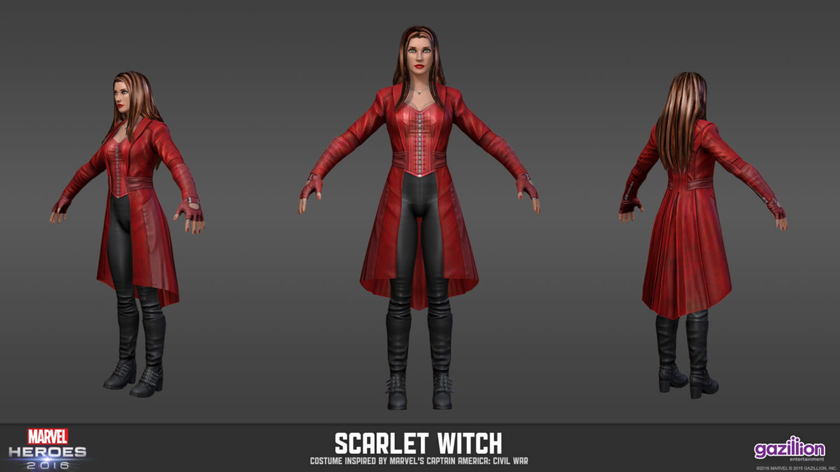 Scarlet Witch Civil War costume in MH — Marvel Heroes Omega