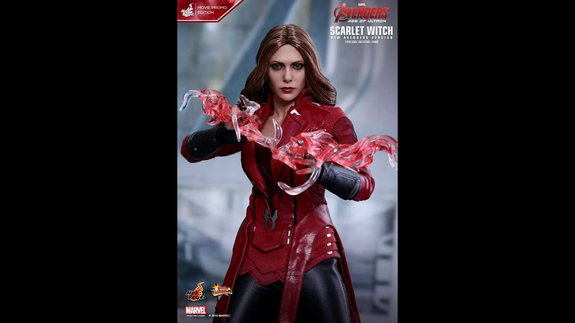 HOT TOYS AVENGERS: AGE OF ULTRON SCARLET WITCH 紅女巫 (NEW AVENGERS VERSION)  MOVIE PROMO EDITION – YouTube