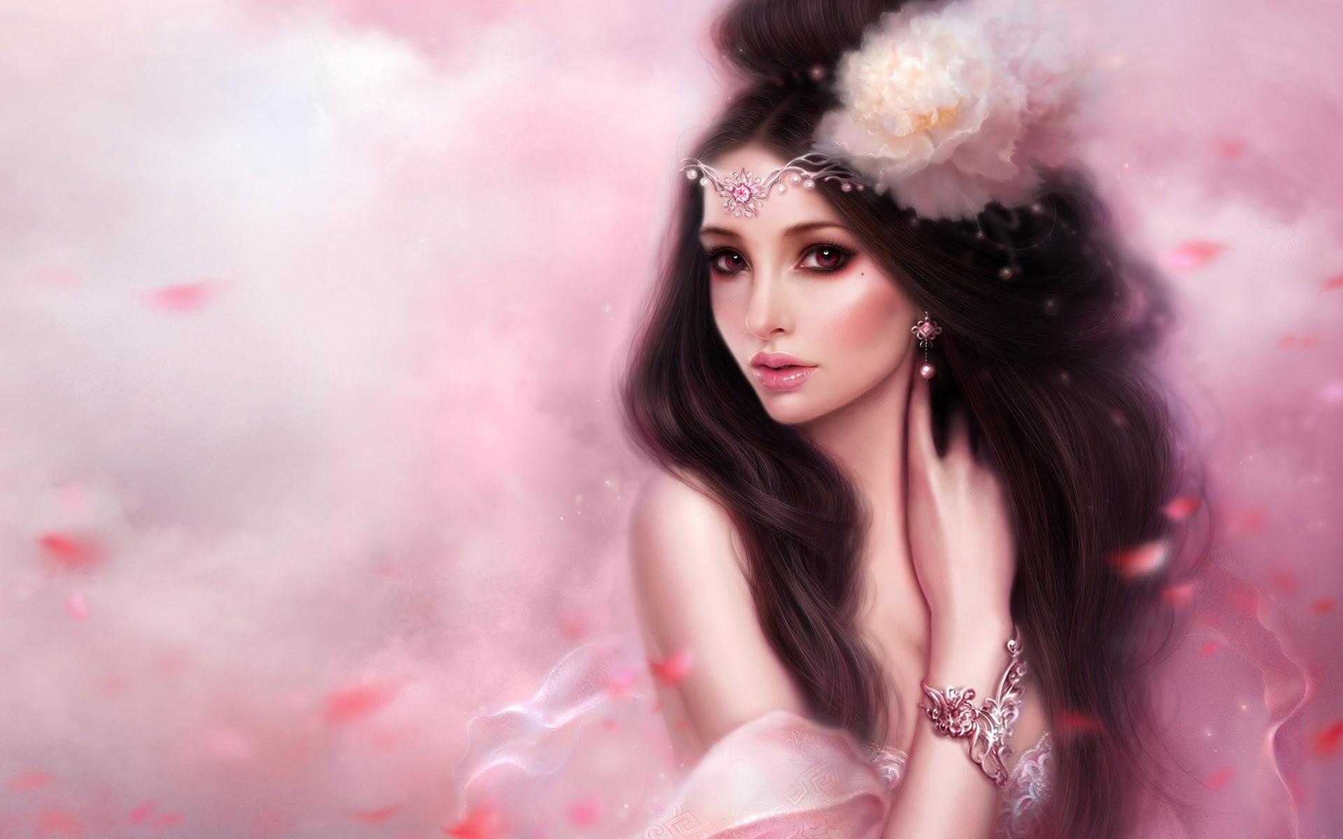 Fantasy Beauty Girl Wallpaper Images Photos #mgfhf12c