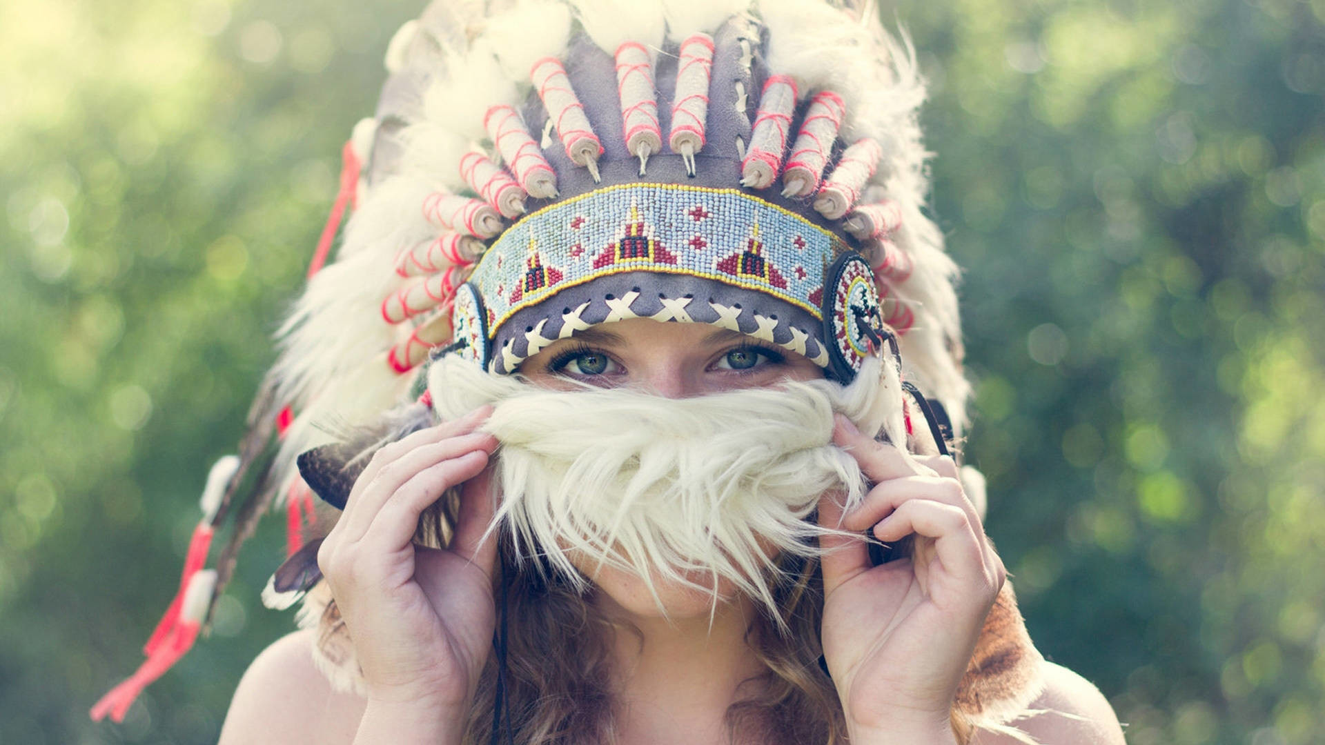 Headdress Girl Wallpapers
