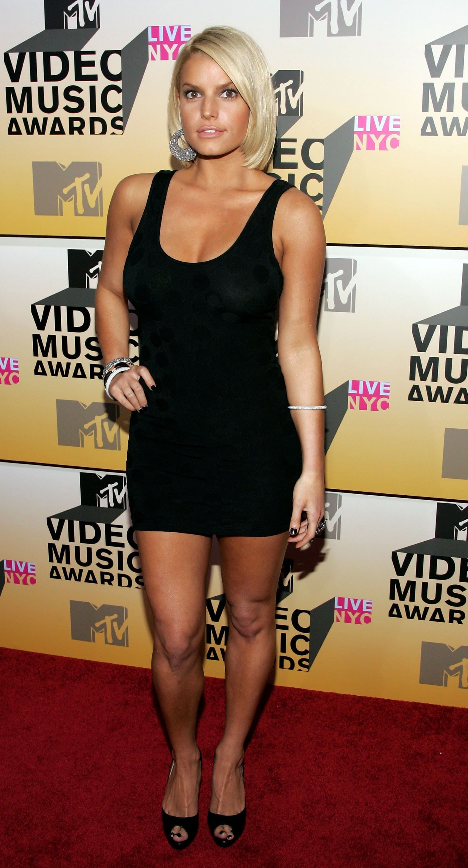 Jessica Simpson 2006 VMAs