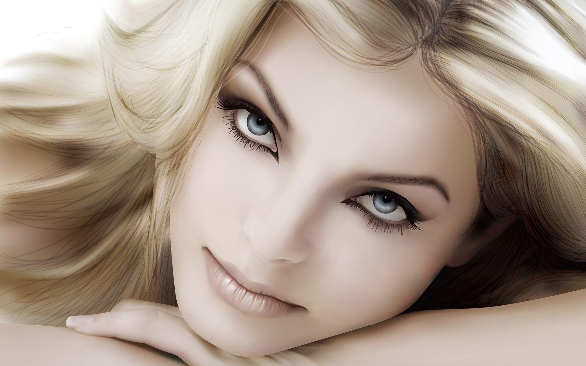 Beautiful girls face Wallpaper 26367