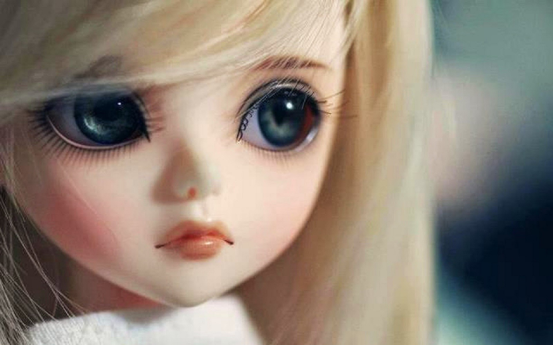 So sweet and pretty doll face wallpaper