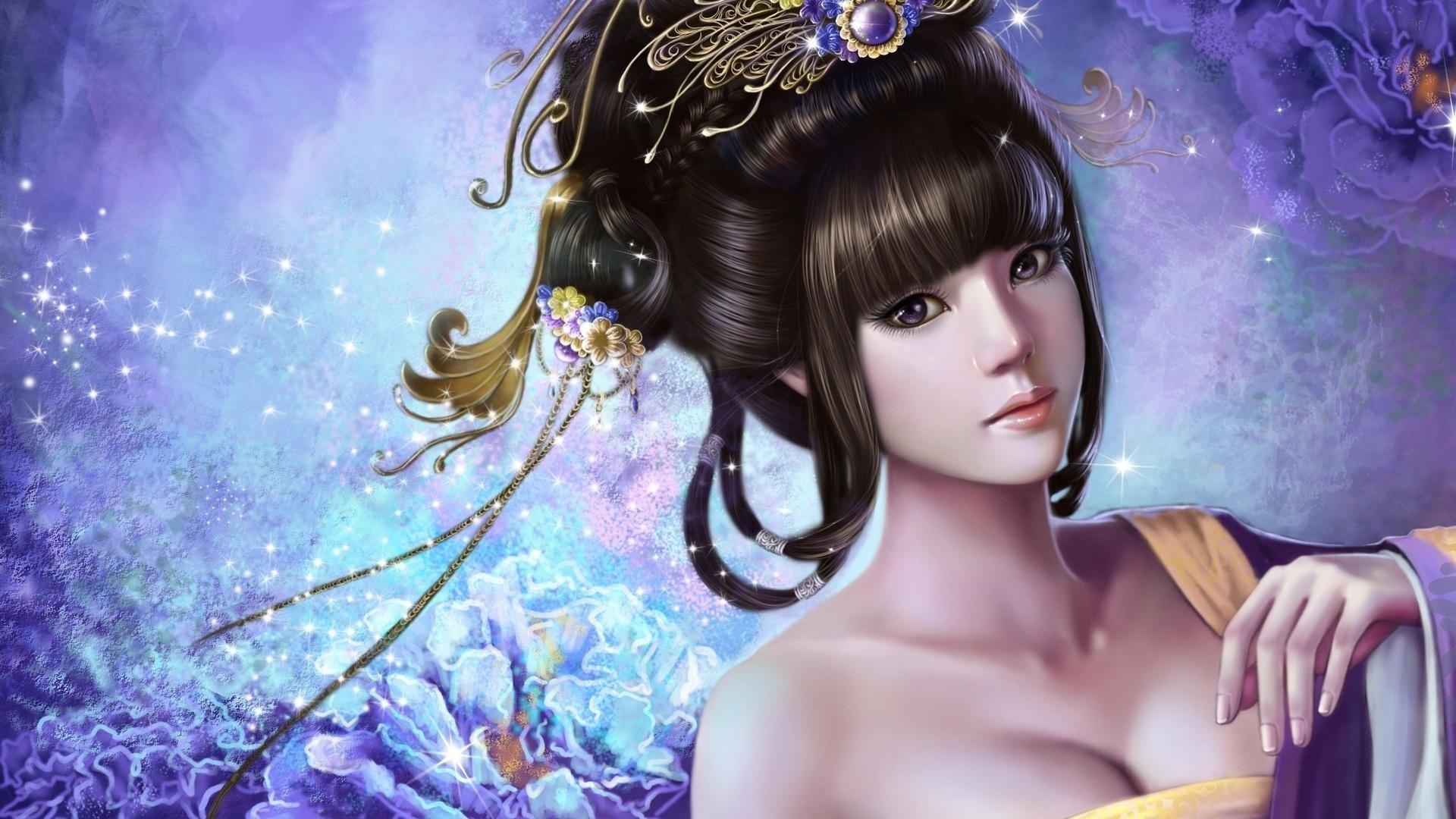 Fantasy Girl – Fantasy Wallpaper ID 990594 – Desktop Nexus Abstract