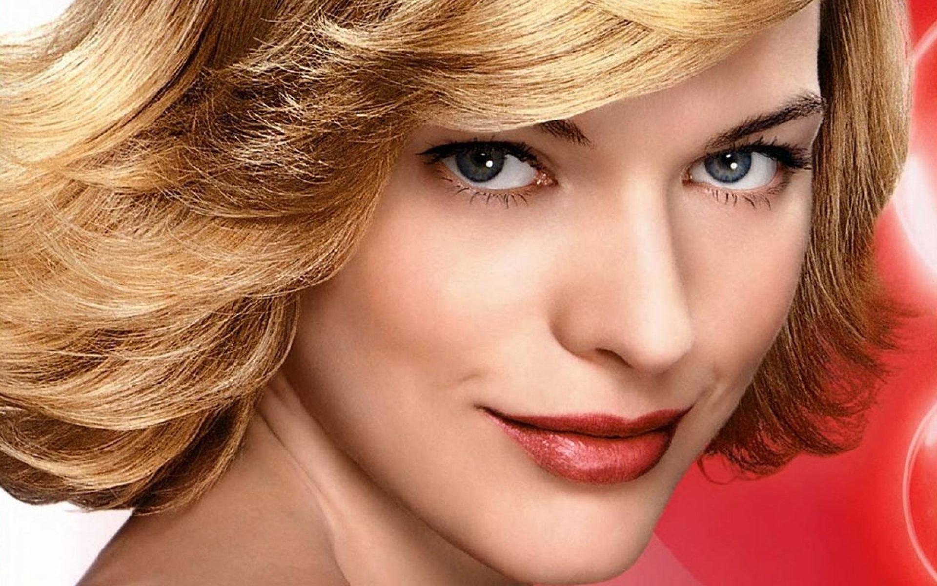 Milla Jovovich Face Wallpaper HD Downlod For Desktop