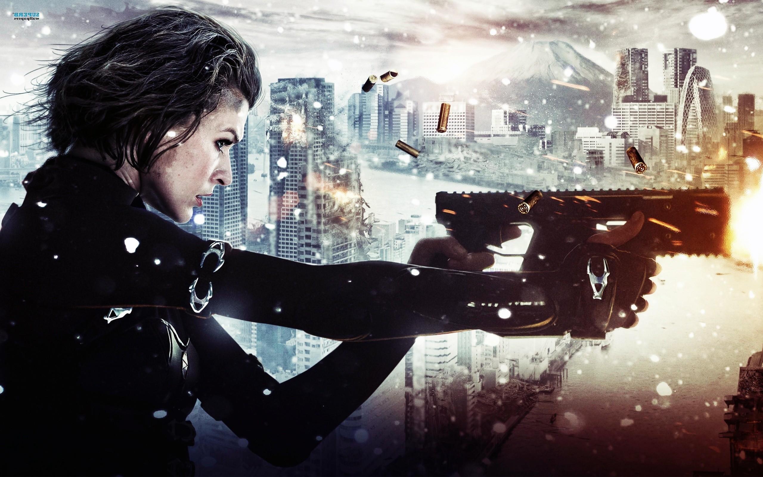 Resident Evil, Movies, Milla Jovovich Wallpaper HD