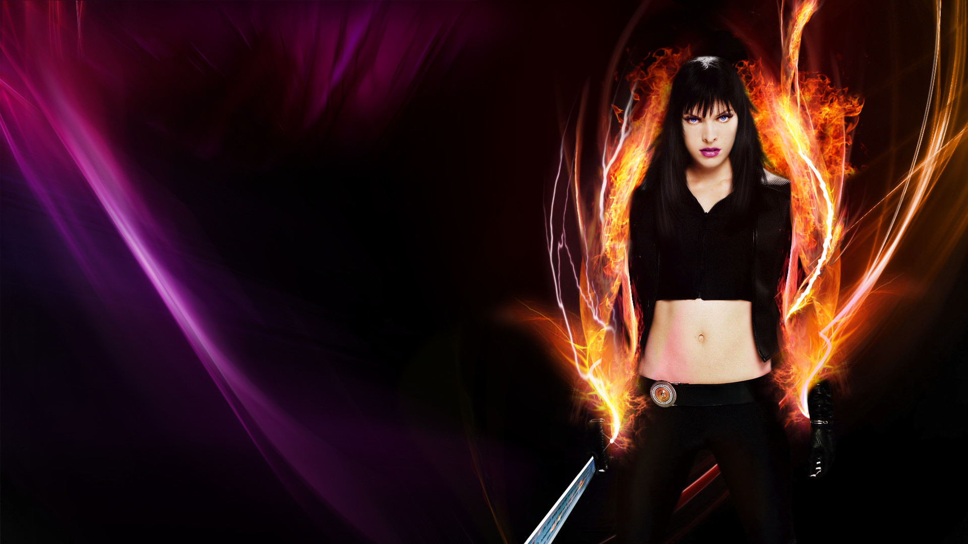 Ultraviolet, HD Wallpaper and background photos of Ultraviolet_MiX_Milla  for fans of Milla Jovovich images.