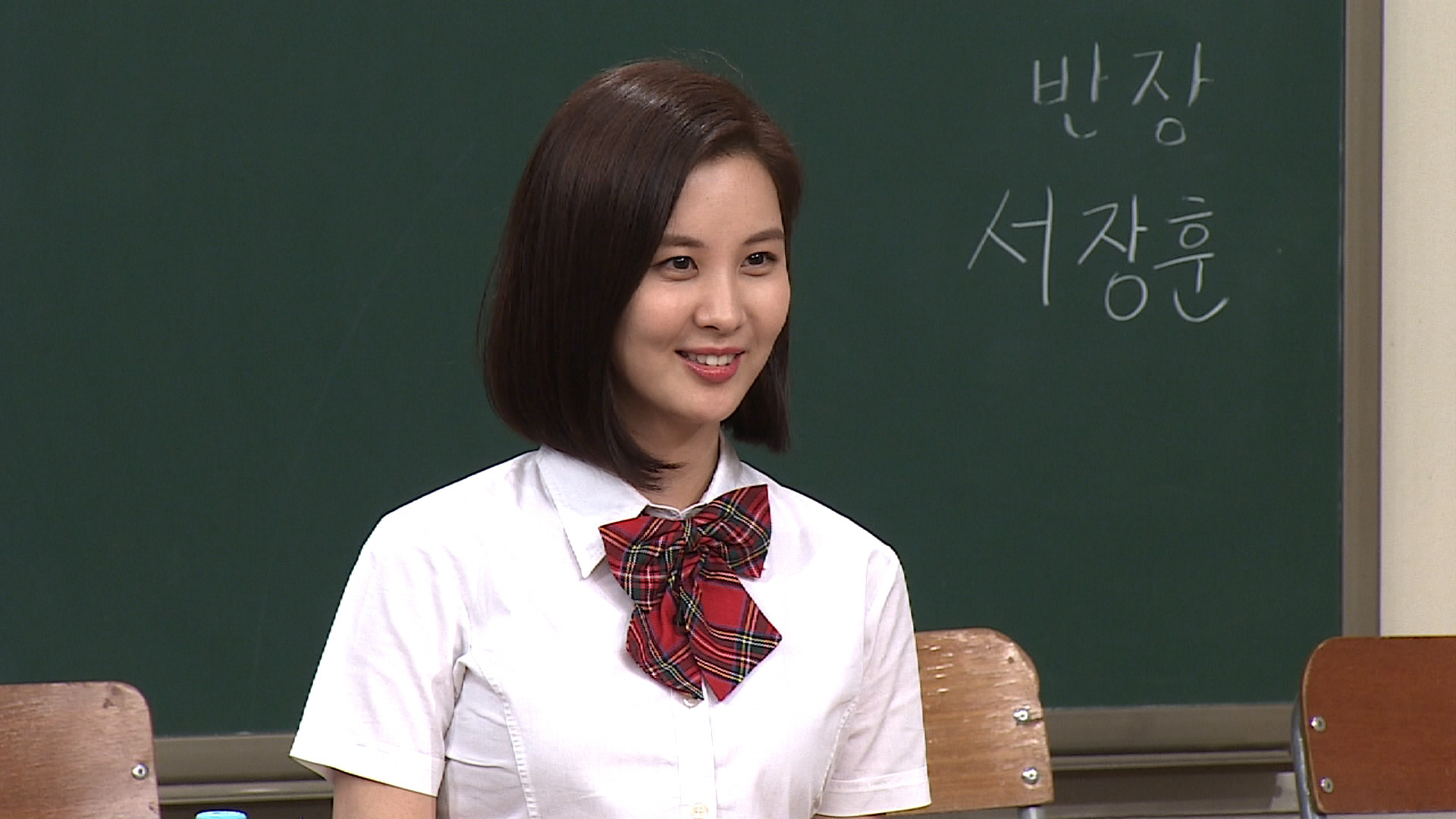 """Seohyun """"Yaja Time"""" (talking casually to each other) on 아는형님 Knowing Bro  this week"""