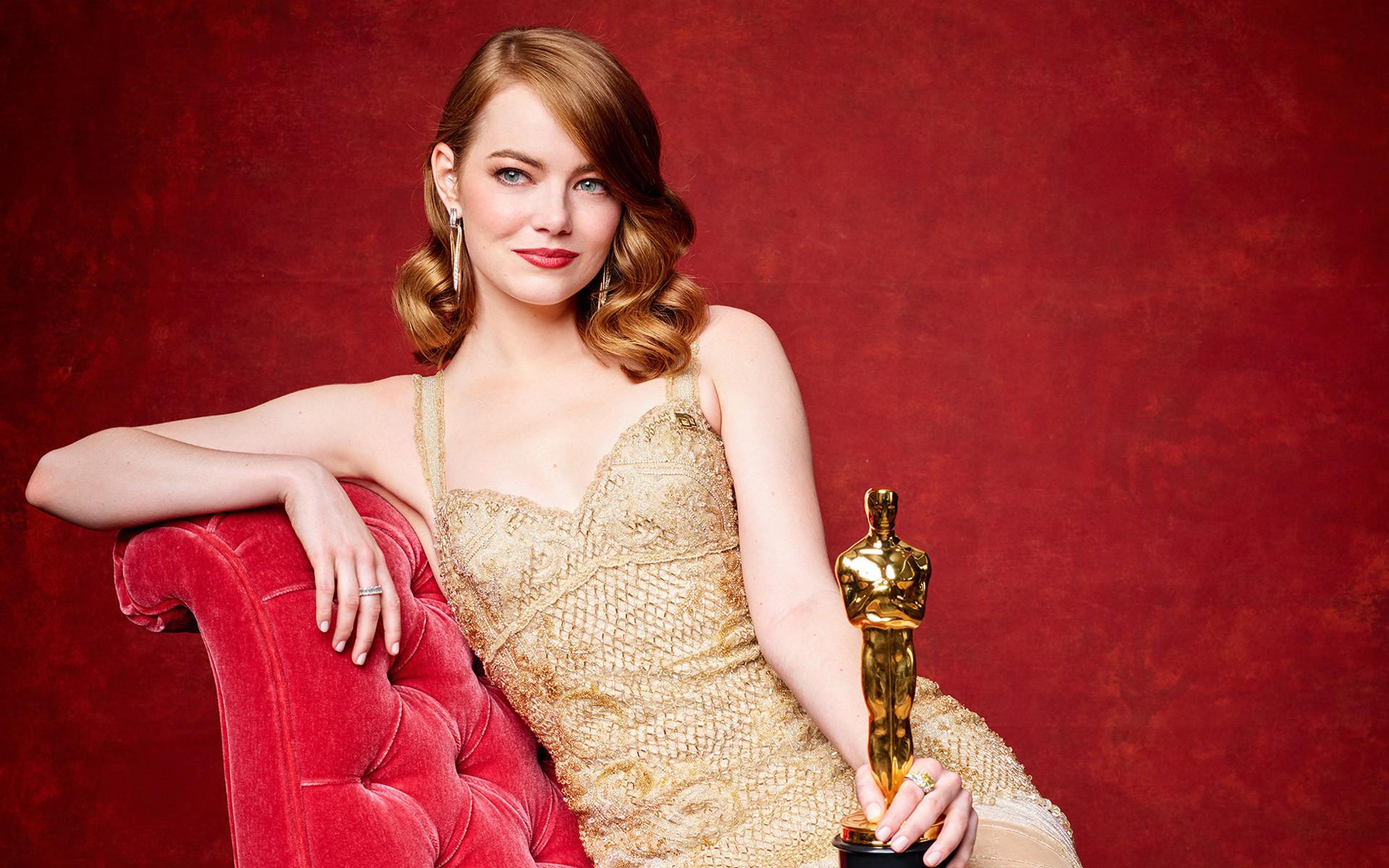 Emma Stone Oscar 2017 Winner