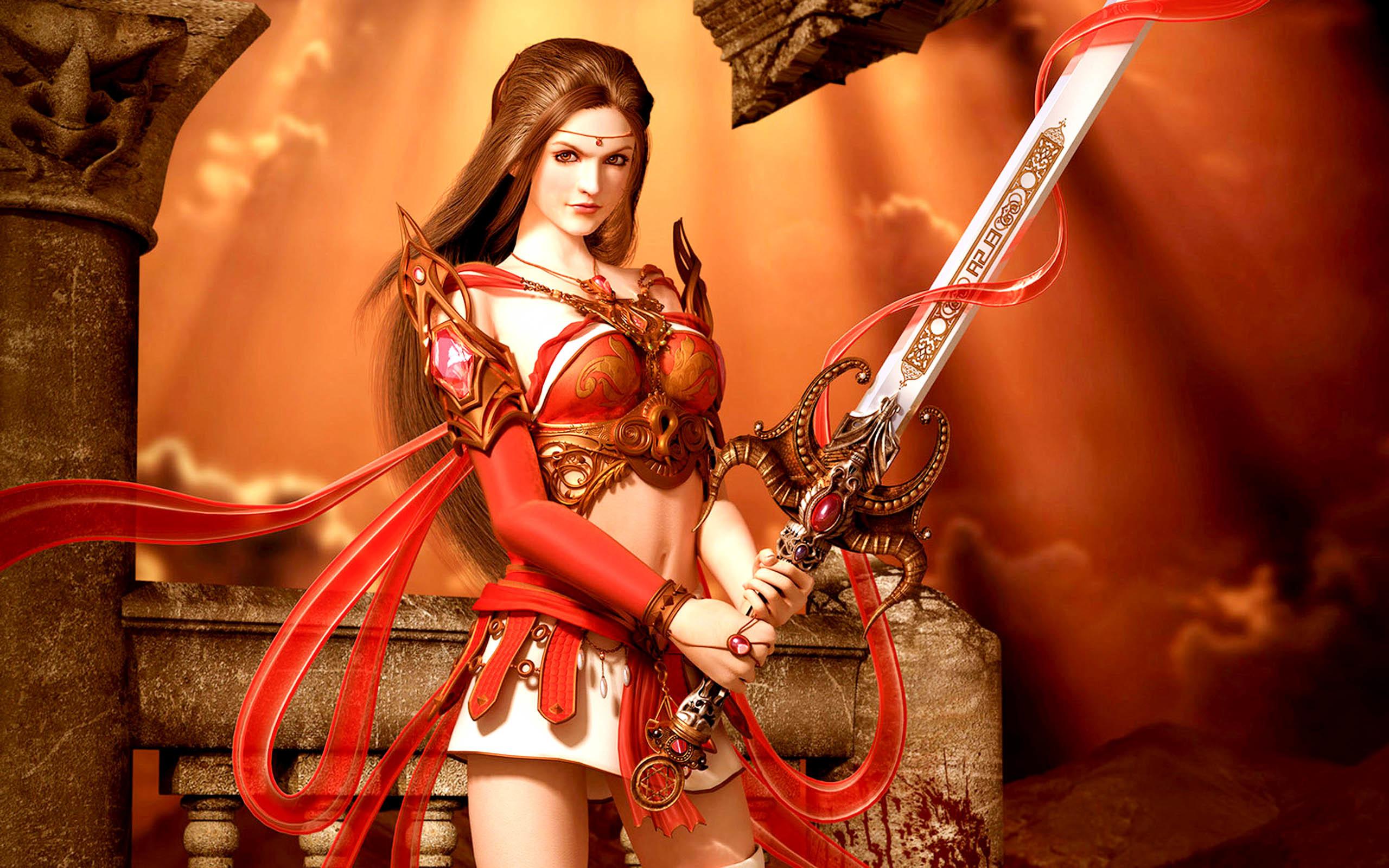 … Women Warrior (1) …