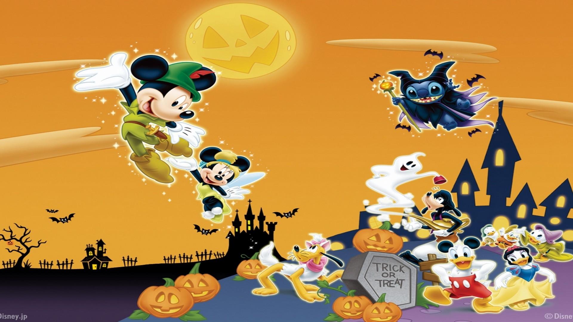 <b>Mickey</b> And Minnie <b>Halloween Screensavers<