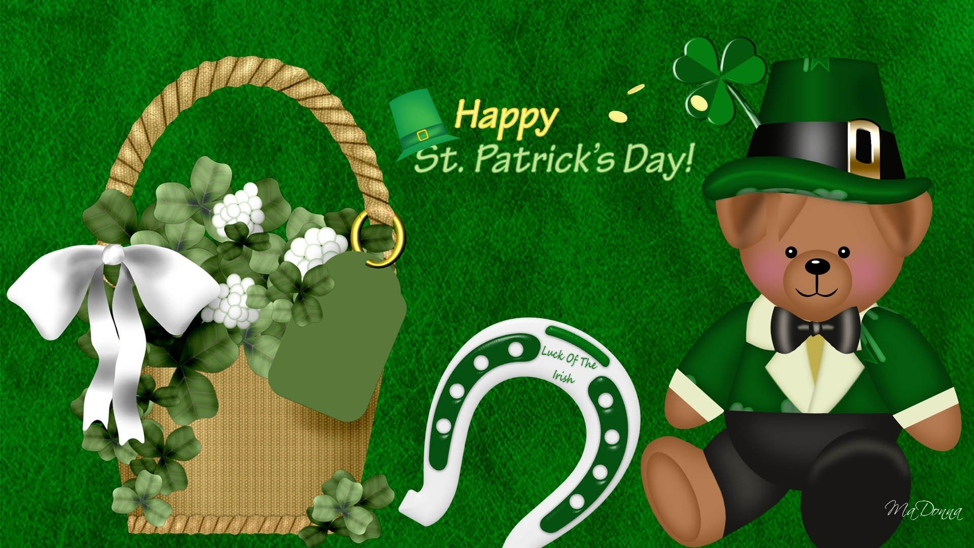 Free St Patrick Day Backgrounds